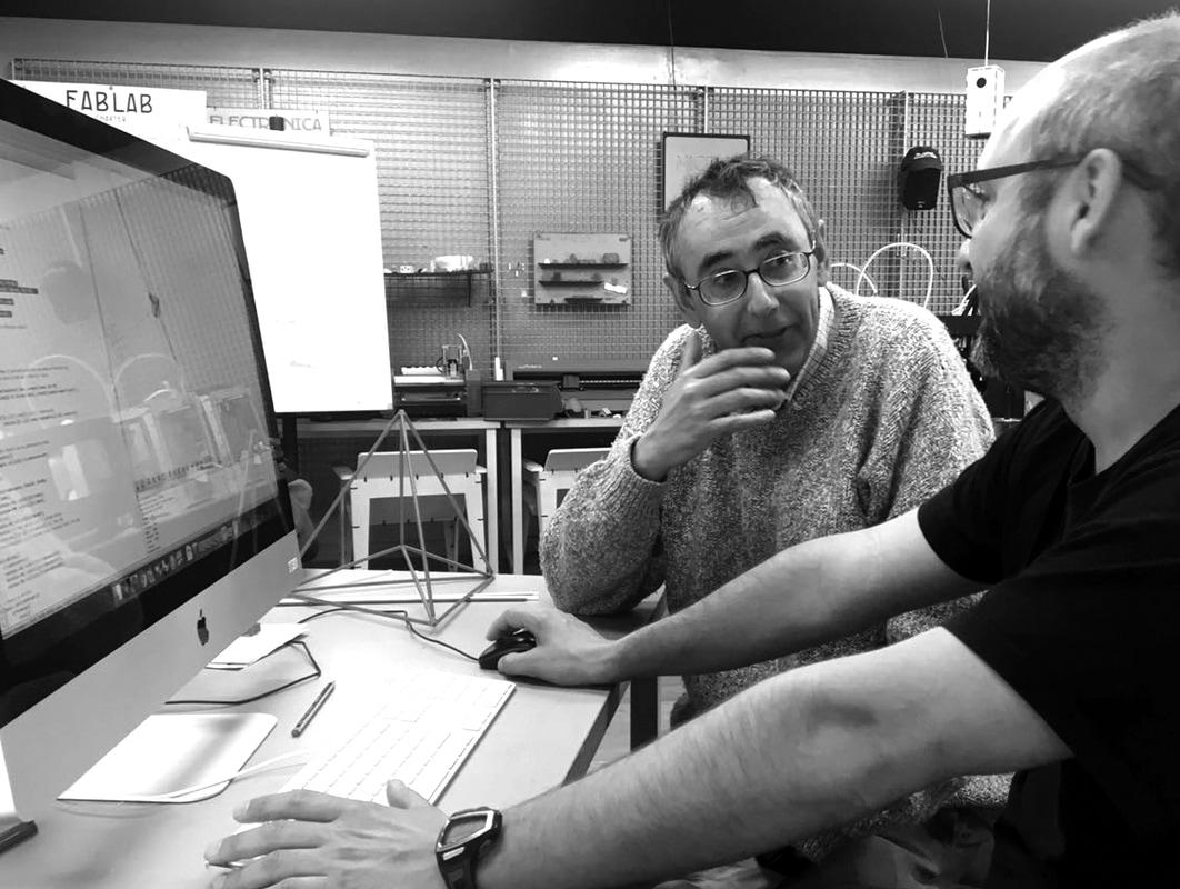 Roberto Cardill y Daniel Pietrosemoli   Matemáticas Visuales+ Fabricación Digital