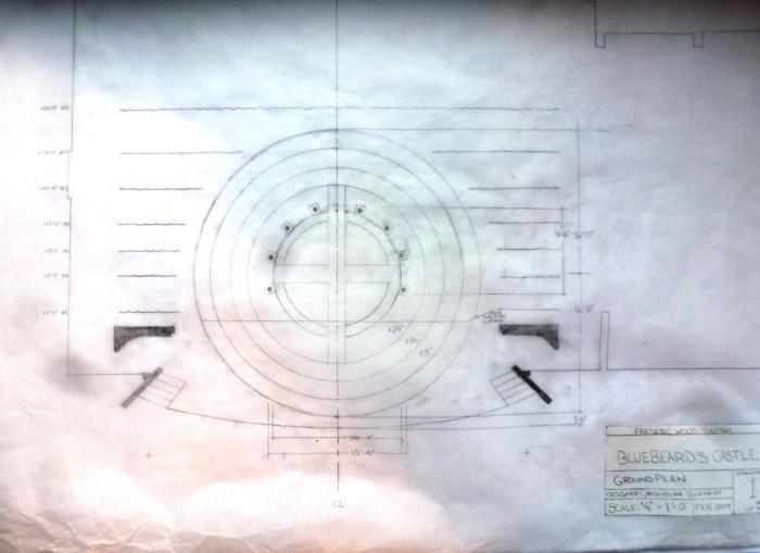 Béla Bartók's Bluebeard's Castle: Groundplan Design by Jacqueline Gilchrist