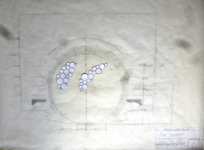 William Shakespeare's The Tempest: Groundplan Design by Jacqueline Gilchrist
