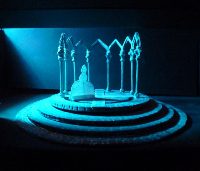 Bluebeard's Castle: Scenic Design by Jacqueline Gilchrist
