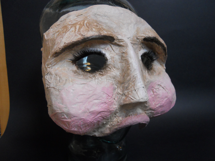 Mask for Kristen Thomson's I, Claudia: Design and Construction by Jacqueline Gilchrist