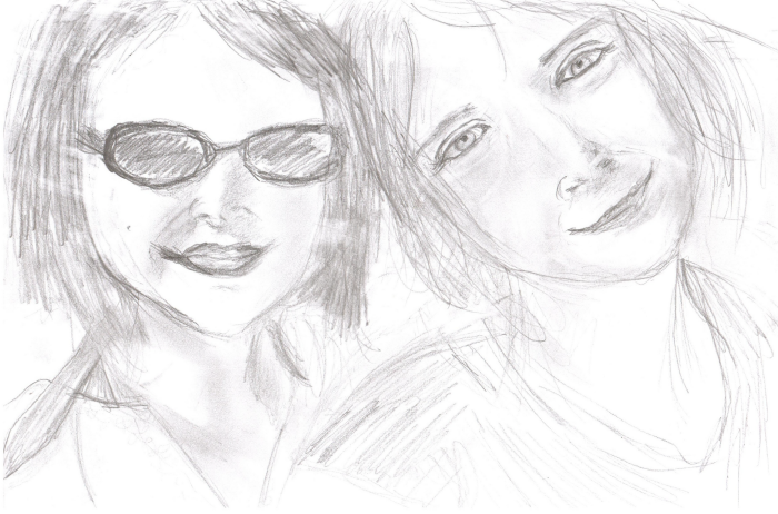 Pencil Sketch by Jacqueline Gilchrist