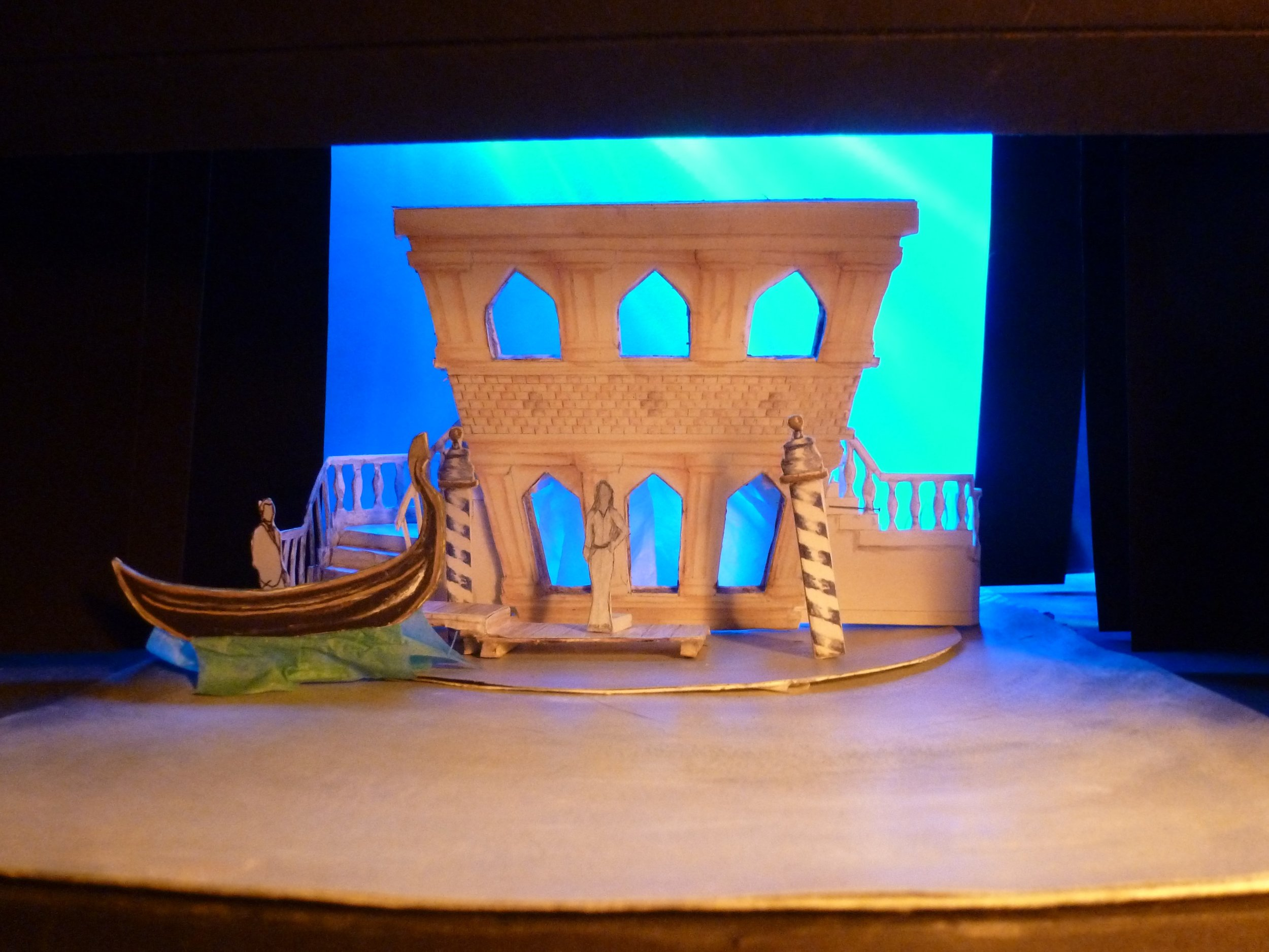 Much Ado About Nothing Set Model - Dock by Jacqueline Gilchrist.JPG