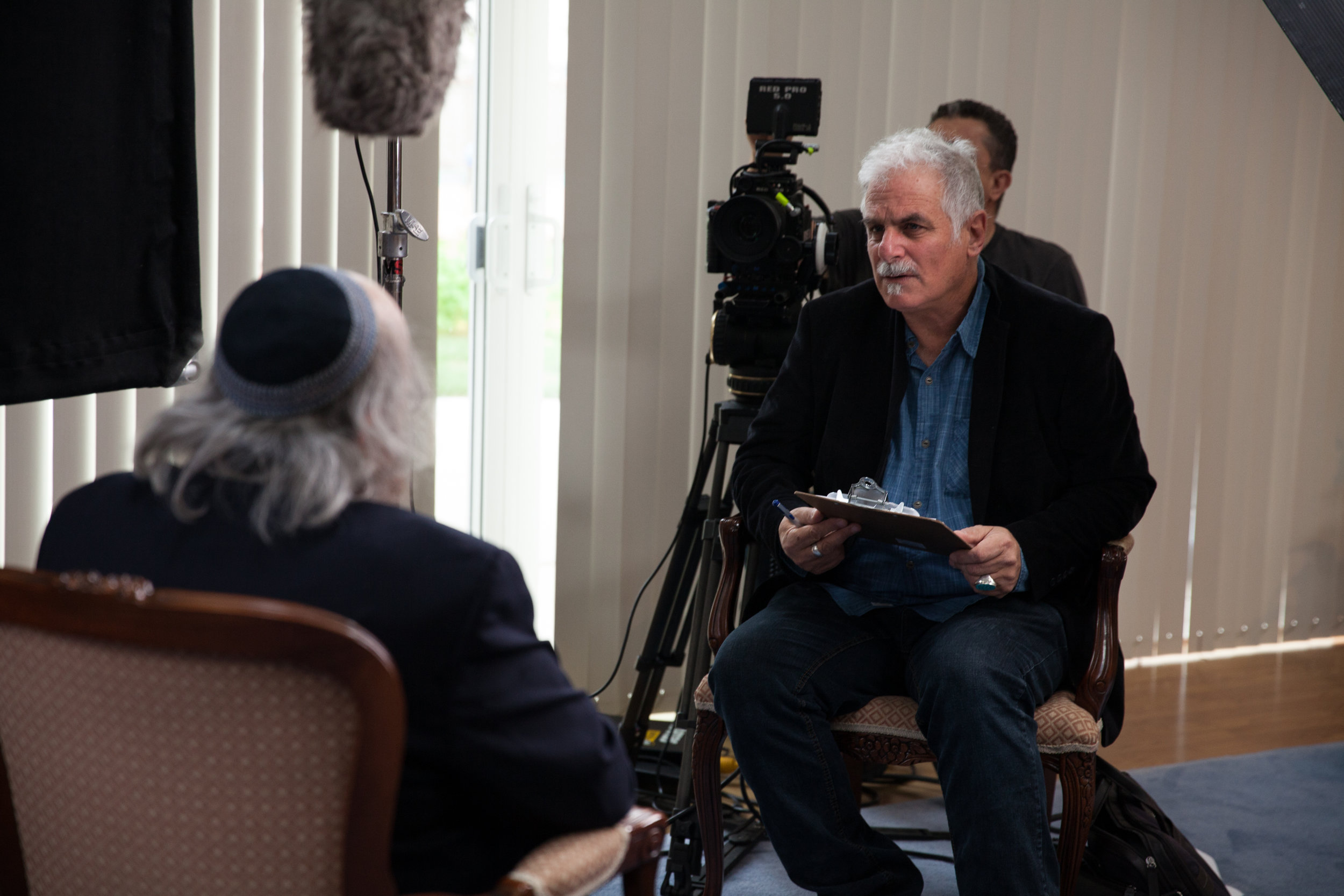 Dir. Isaac Artenstein Int. Rabbi Wayne Dosick-EoE--©SDHC:Cinewest.jpg