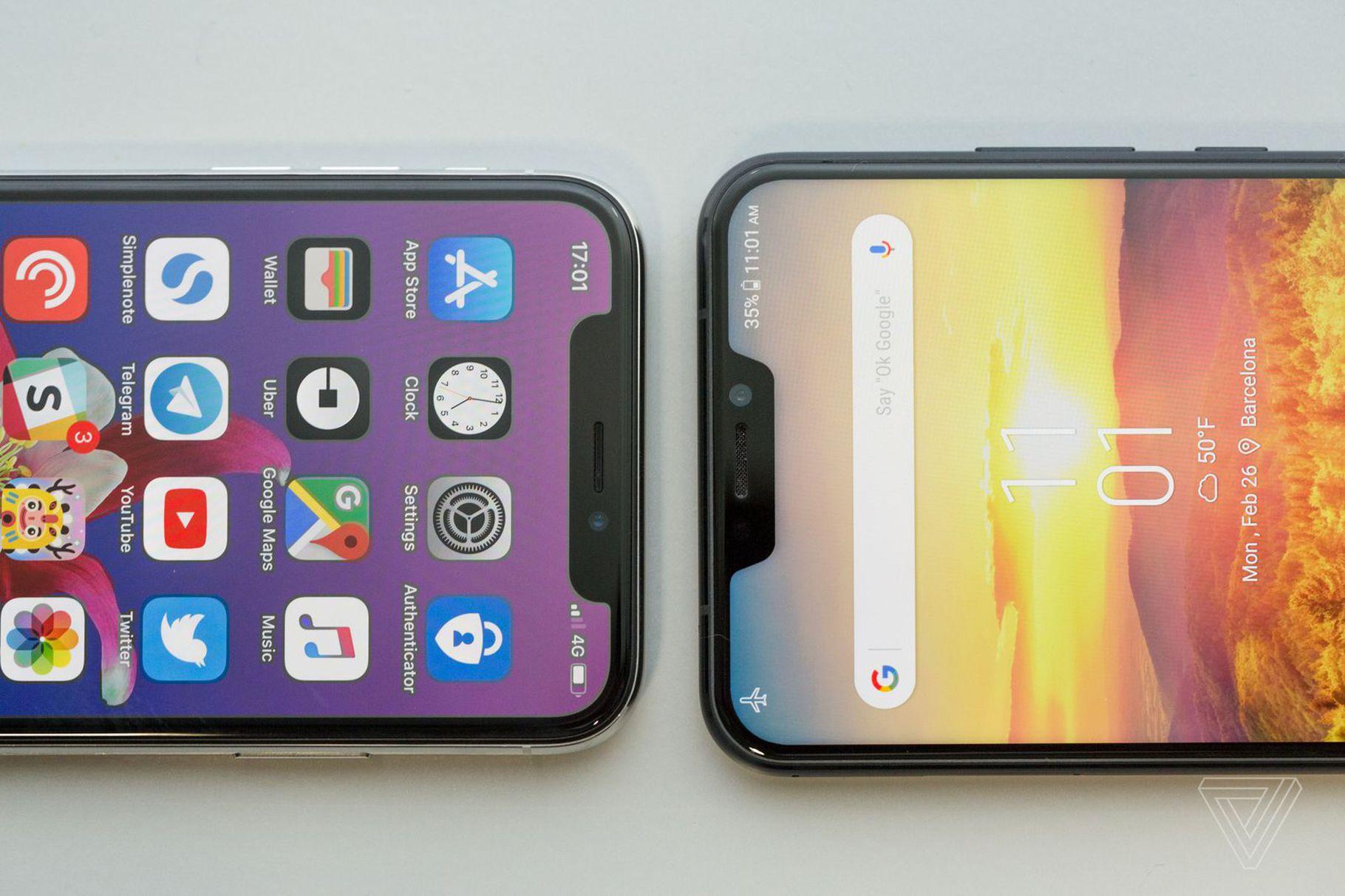 iPhone X vs Asus ZenFone 5