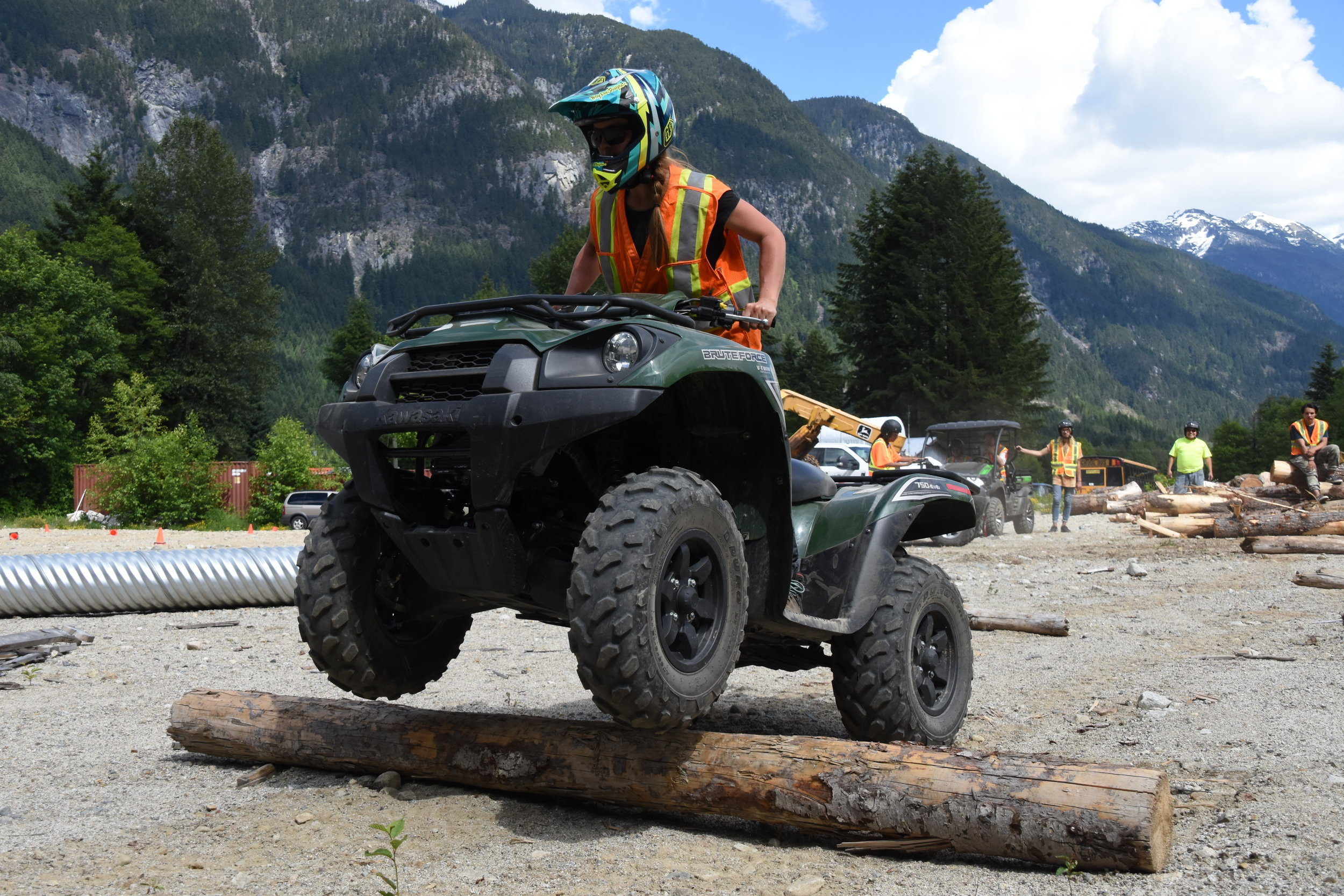 Stillwater forestry students will complete their ATV/UTV Safe Operator certificate during our programs.