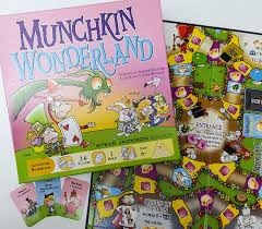 Munchkin: Wonderland - So if Candyland was really Alice in Wonderland, and then Munchkin got involved…Honestly, it's exactly what you'd think it was.