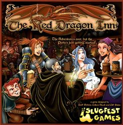 Red Dragon Inn - A game of drinking, where you can pretend to drink, or actually drink…though if you're under legal alcohol age, you'll be using sodas. Still lots of fun!