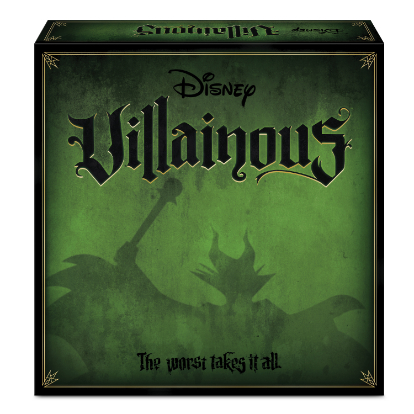 Villainous - I know I've chosen this one before, but I love it! And now there's an expansion coming out! It takes a little bit to understand the rules since each player has their own goals, but once you get that, it's a game of strategy and luck!
