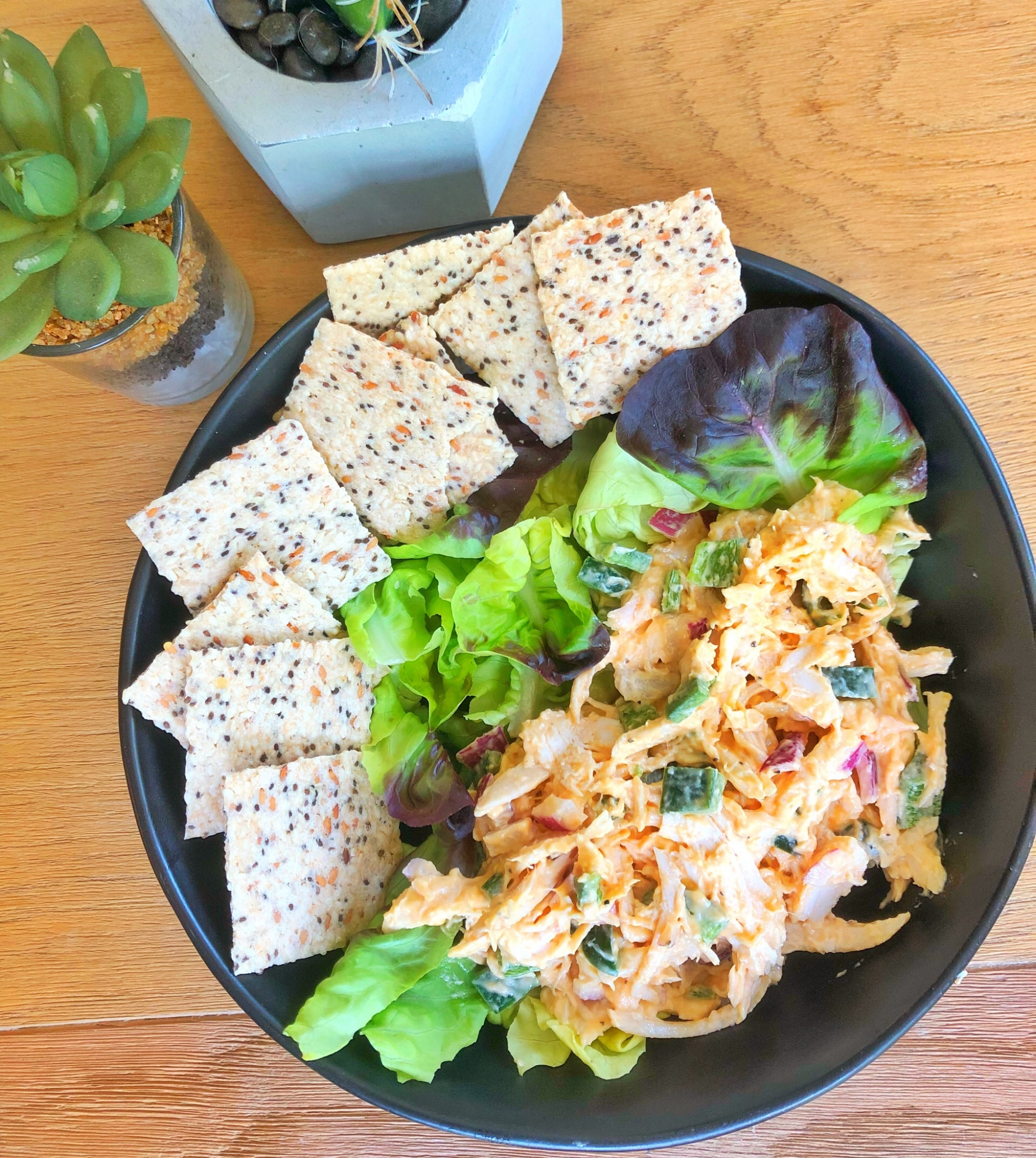 buffalo chicken salad.JPG-quicks-eats-salad-chicken-buffalo-whole-30