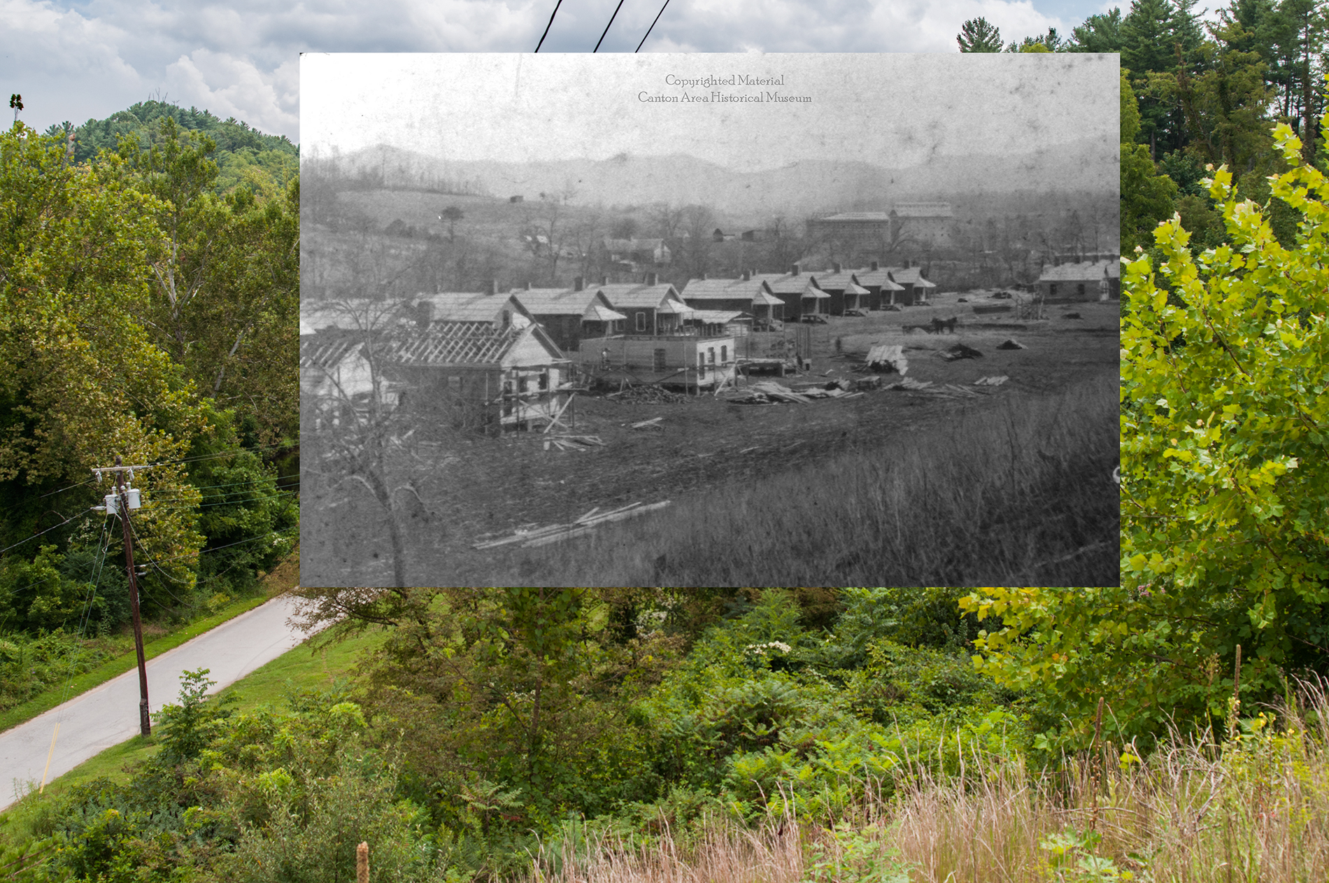 Fibreville 1905 and today.jpg
