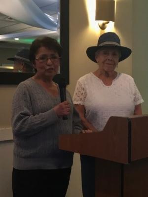 Sylvia Galindo and Celia Galindo