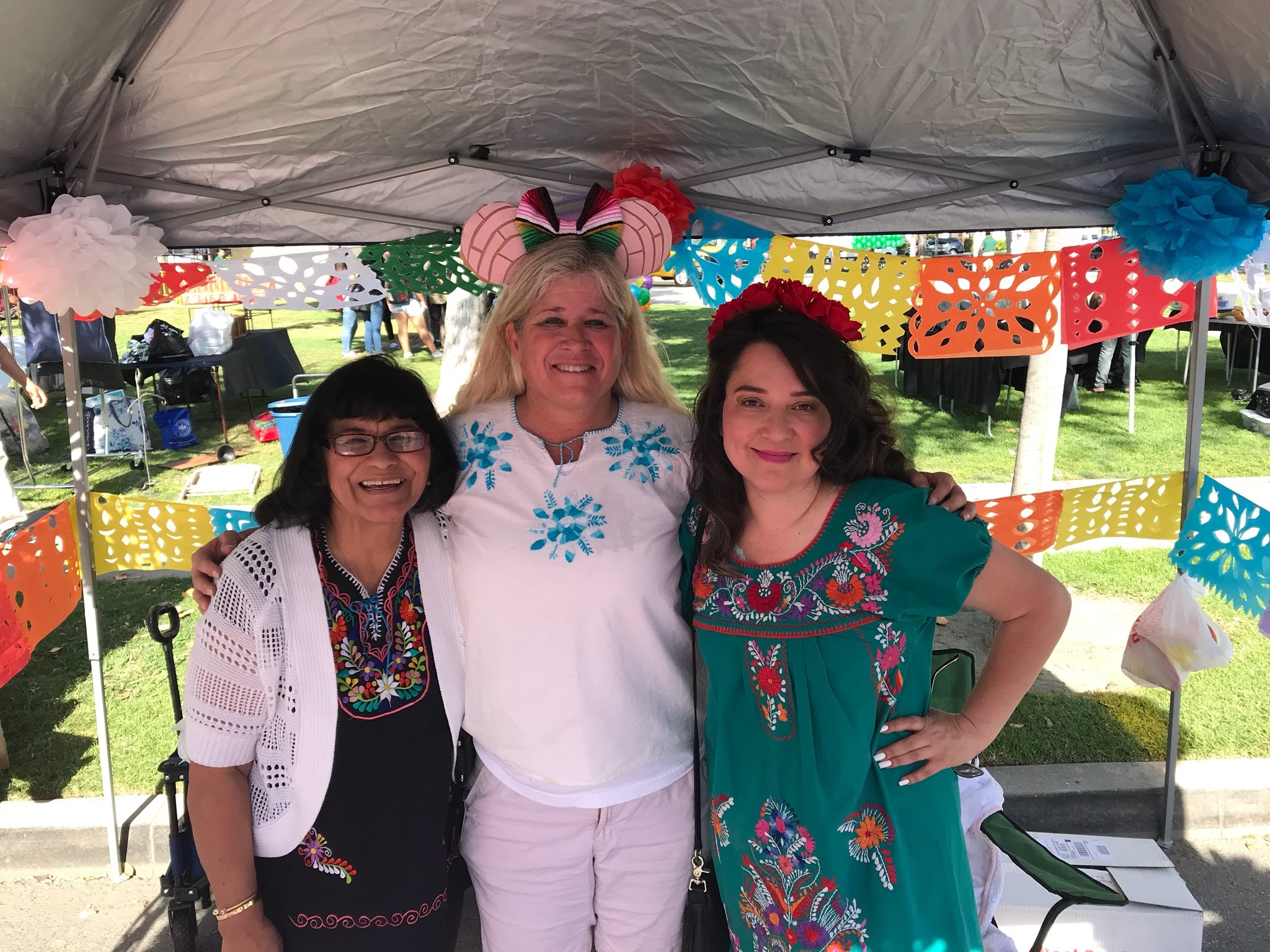 Left to Right: Patty Goytia, Jenny Siebel, and Letty Cardenas - Photo Credit: Laura Gaber