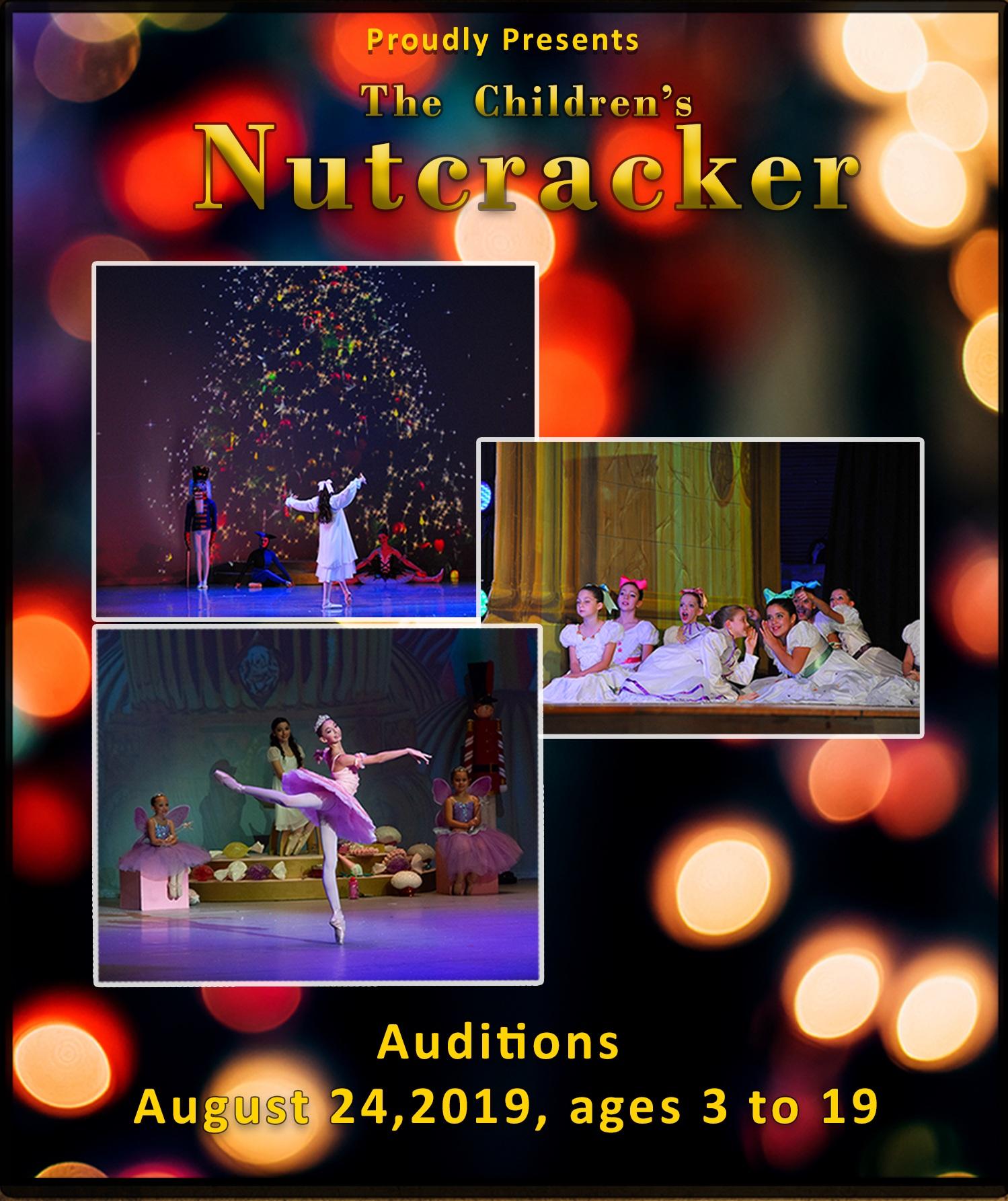 Children's Ballet of San Antonio Nutcracker Auditions, Nutcracker San Antonio Ballet, Nutcracker for Children