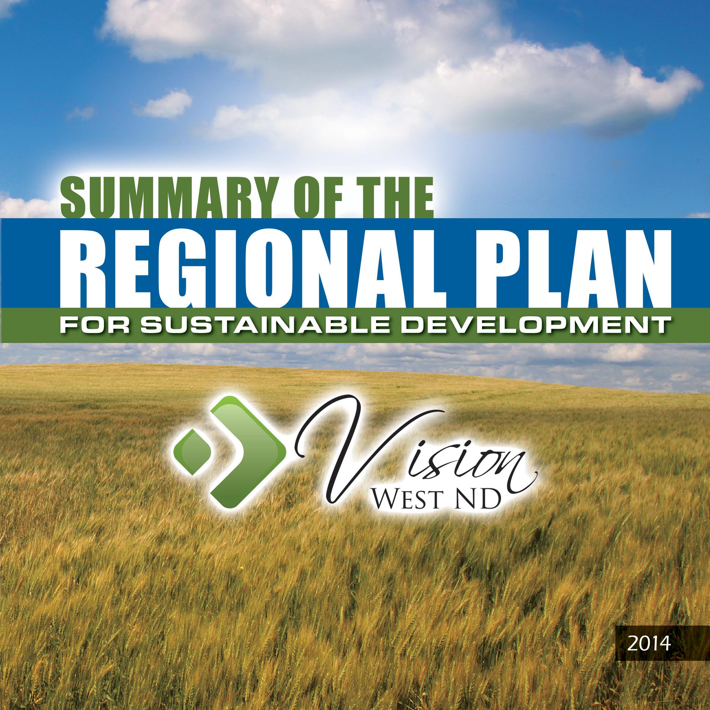 2014 - Regional Plan Summary