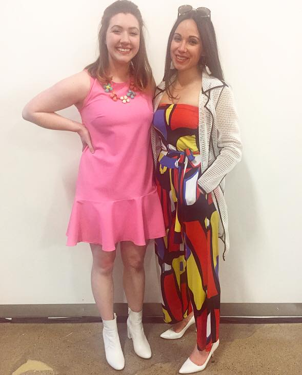 My favorite judge and clothing swapper, Serena Fallahi Tittl