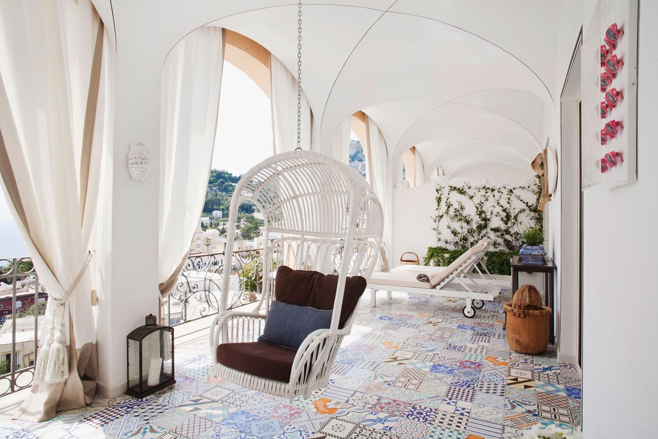 Capri Tiberio Palace-Capri