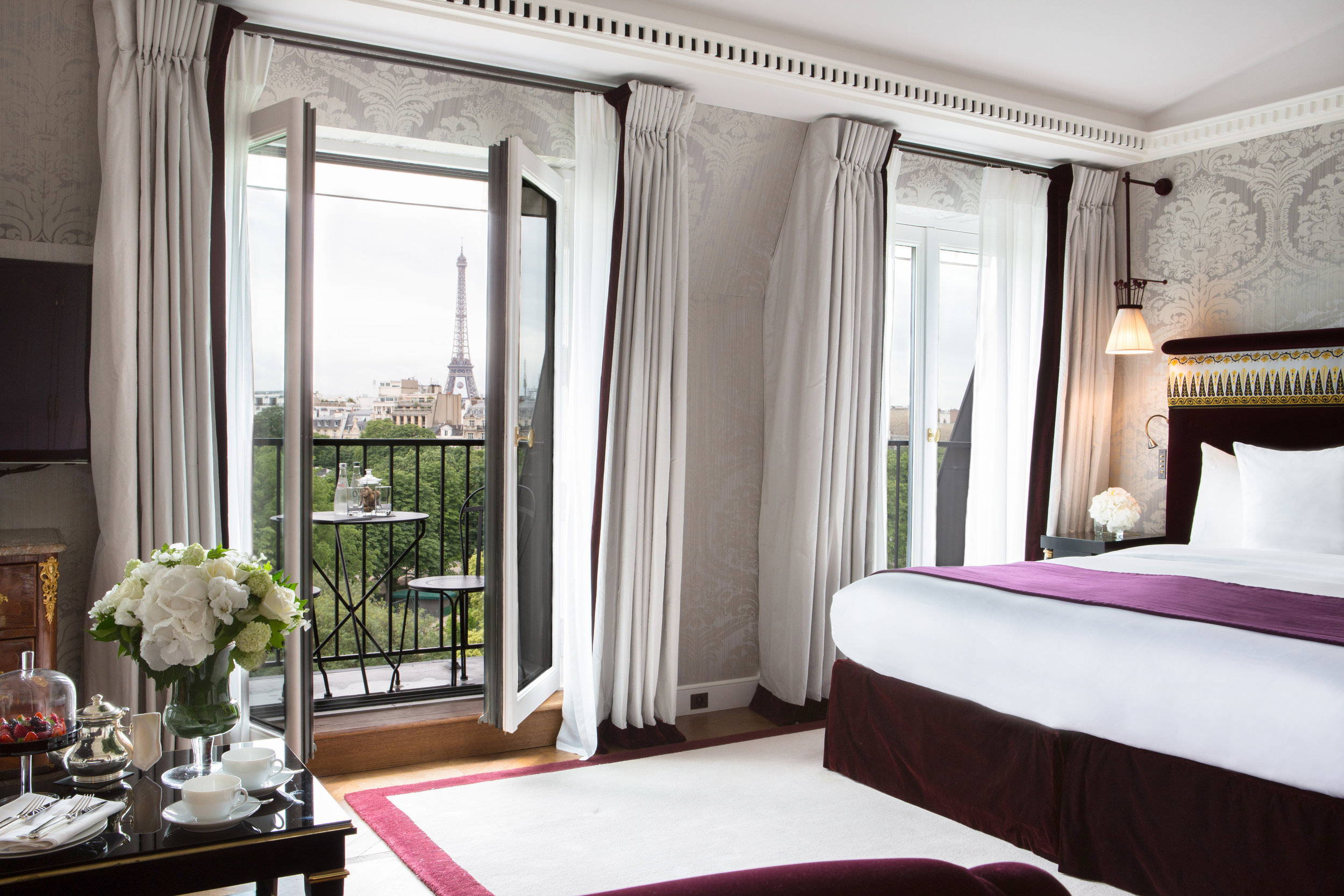 La Réserve Hotel and Spa - Paris - Voyager Club - Luxury Hotel