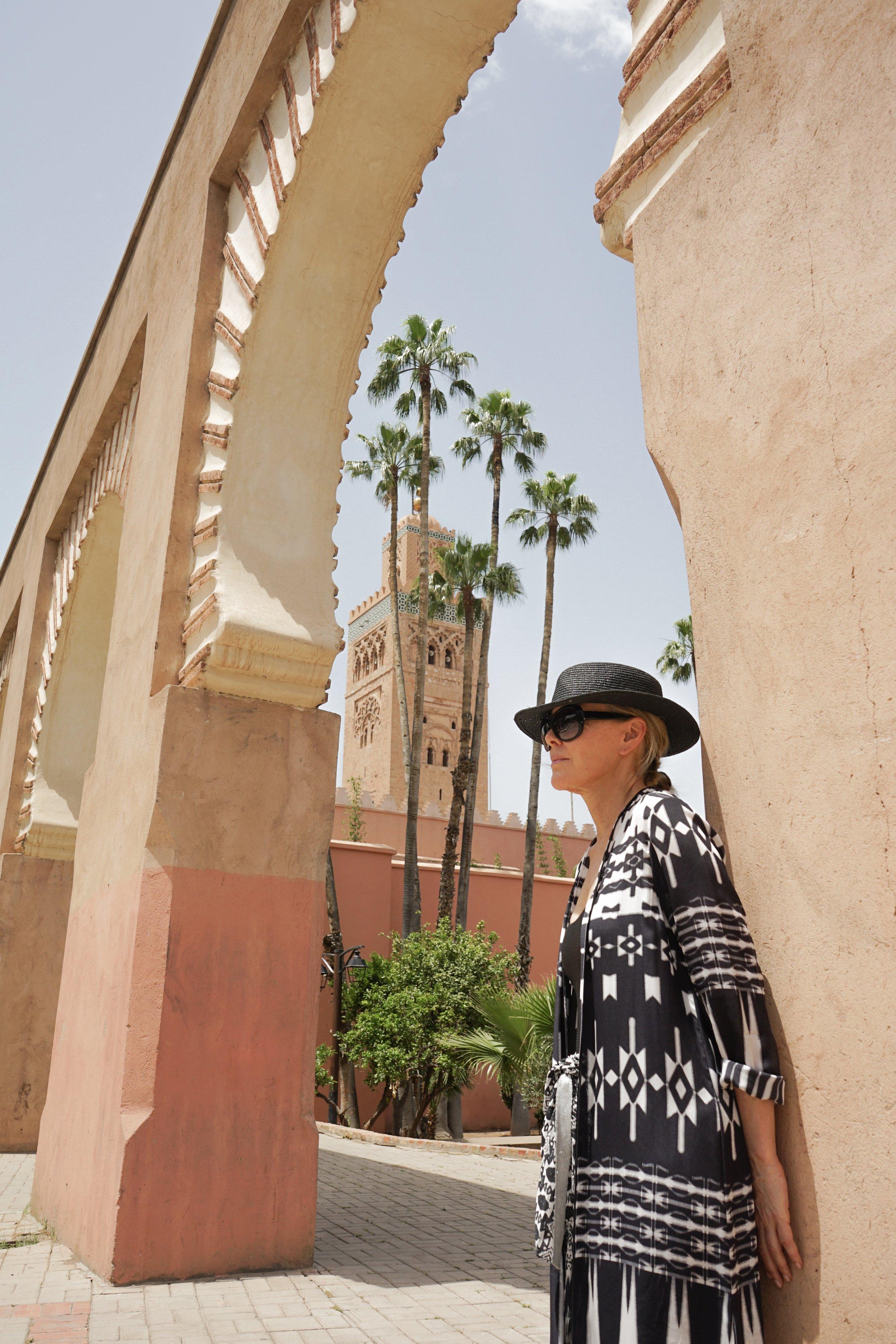 Voyager Voices- Marie France Van Damme- Marrakech