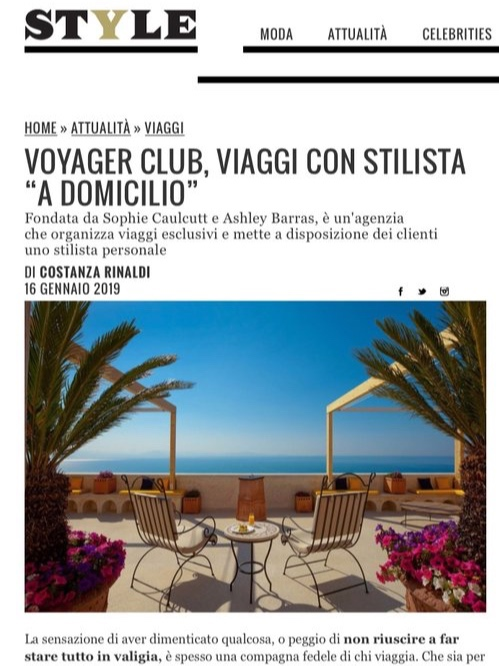 Copy of CORRIERE STYLE