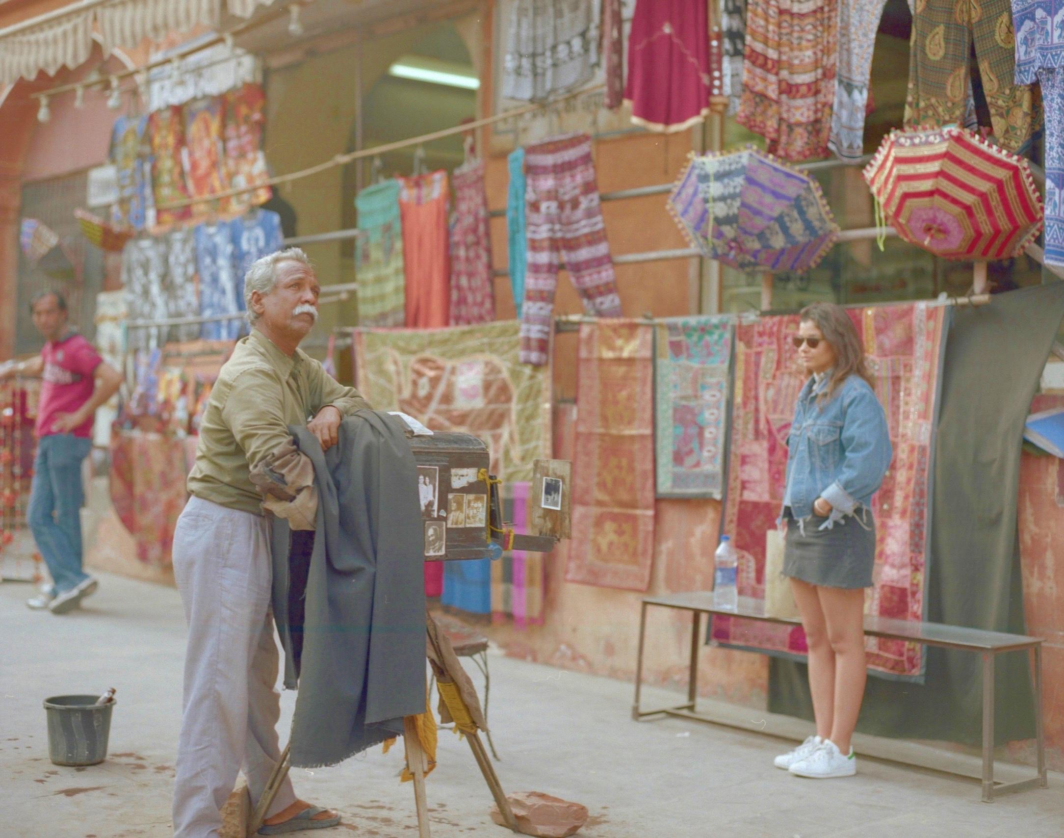 Eva Ramirez, Surinder and Tikam Chand street photography