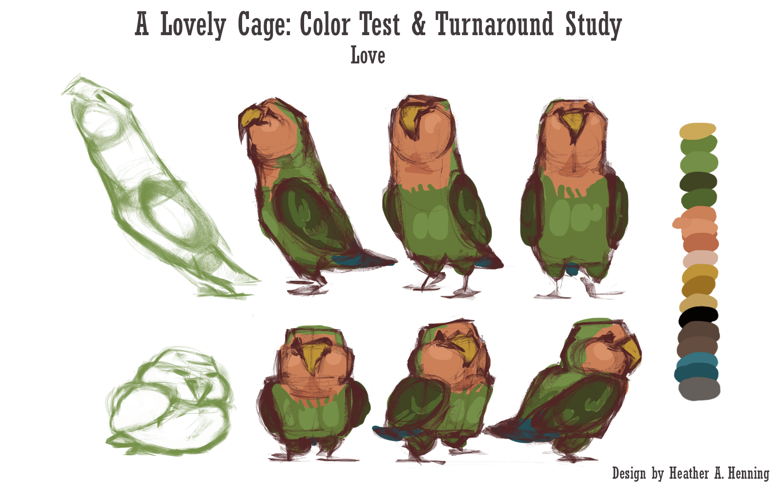 Color Test & Treatment study
