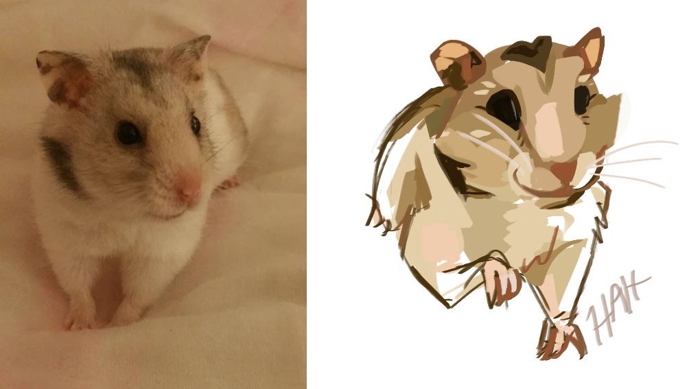 Cannoli the Hamster Commission