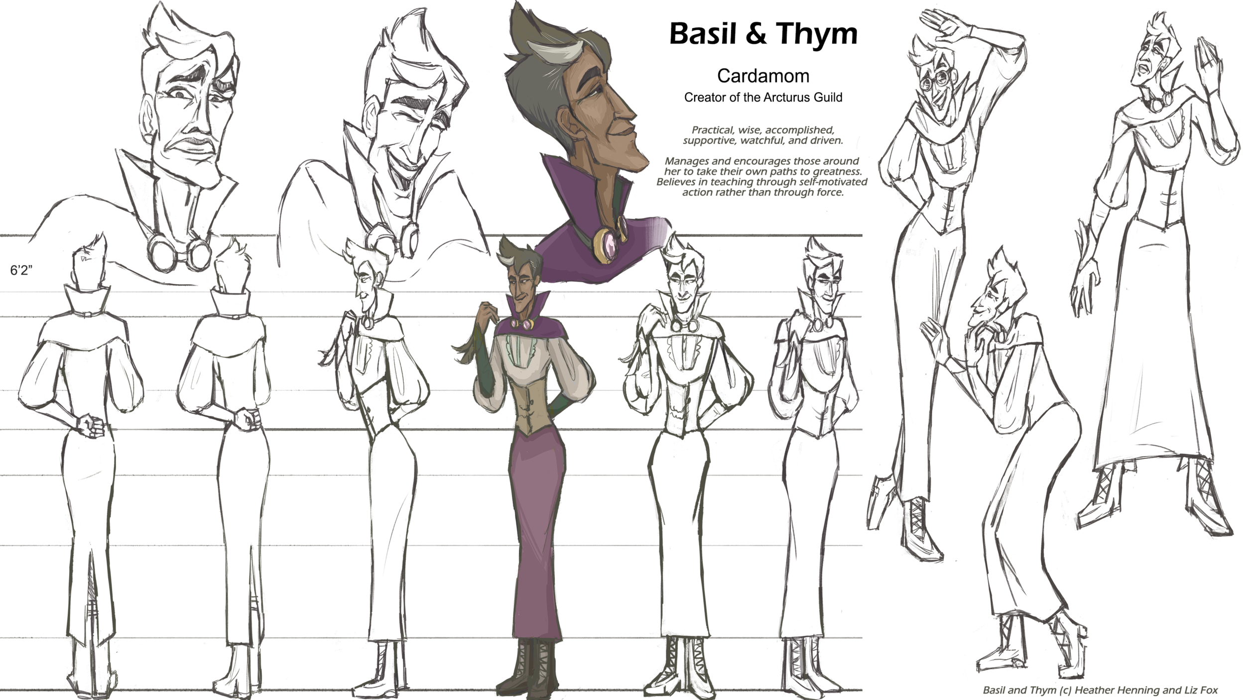 Cardamom Character Sheet