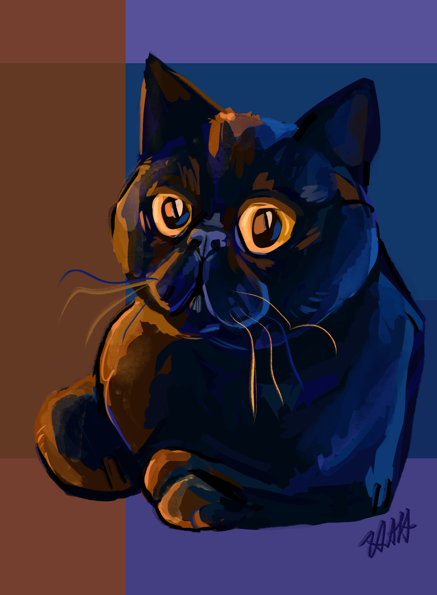 Mistoffolees Cat commission