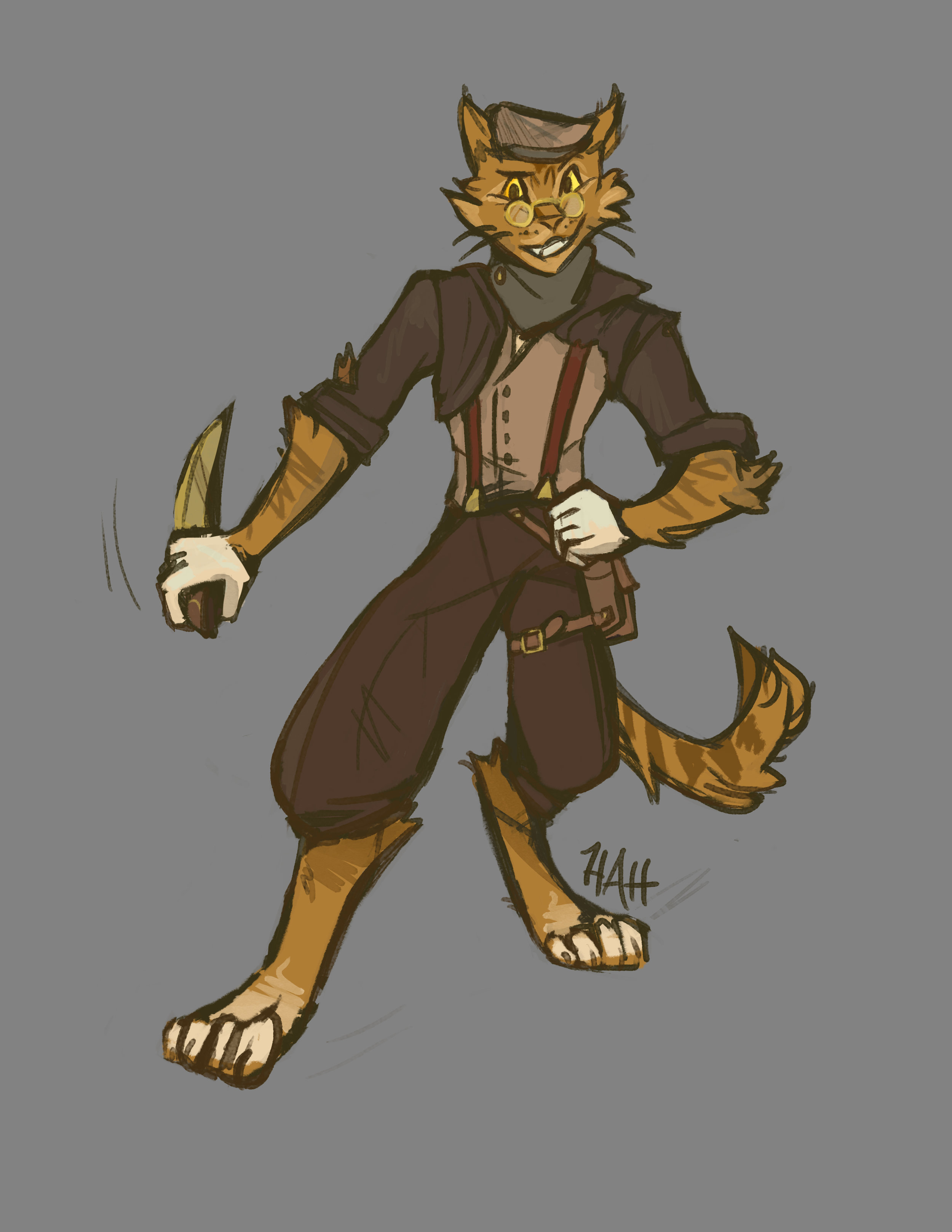 Tabaxi Character Design Commission