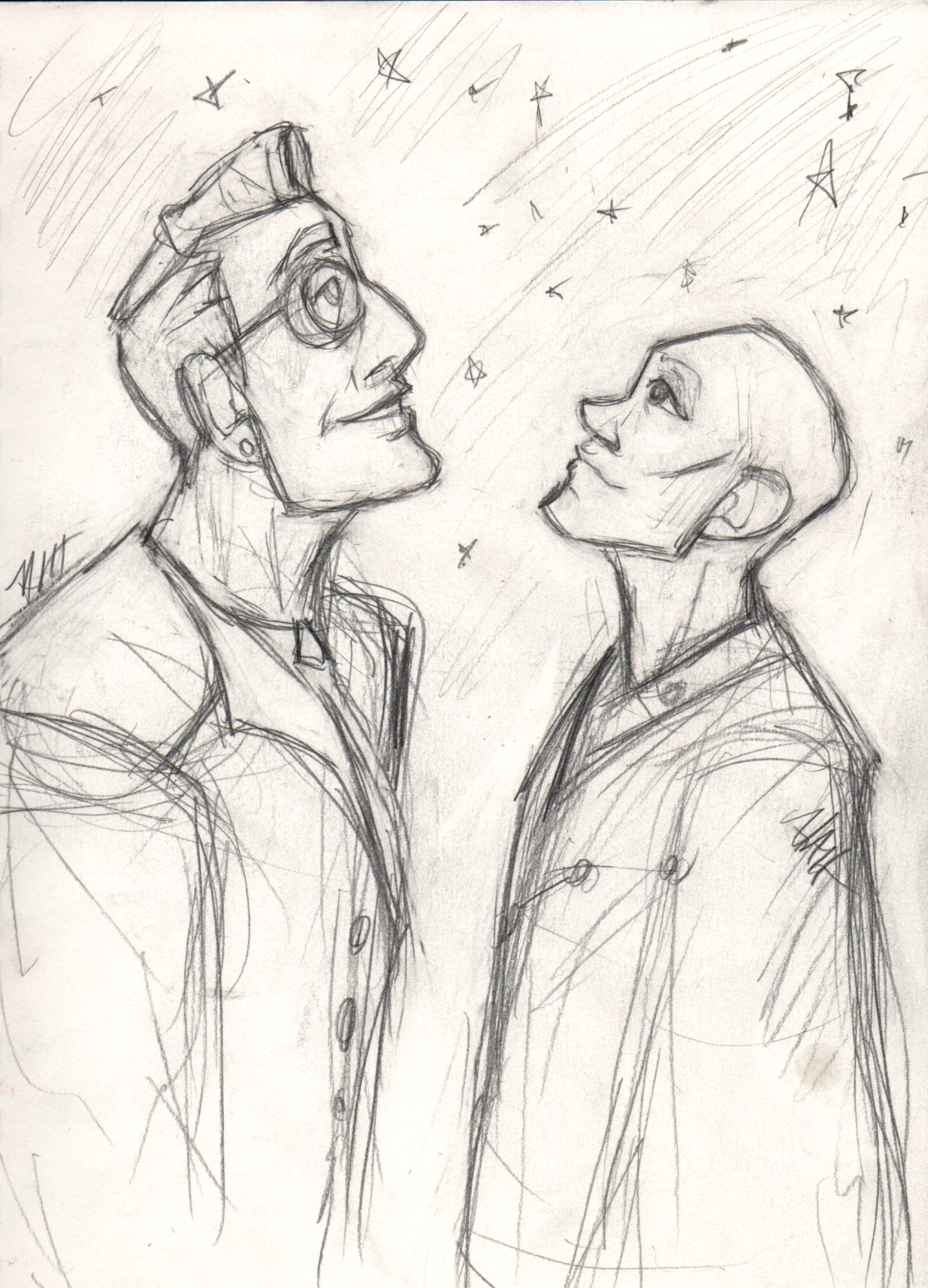 Juniper and Bay Sketchbook page