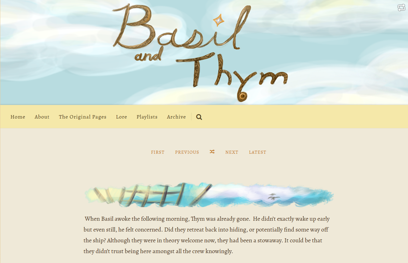 Basil and Thym Webpage