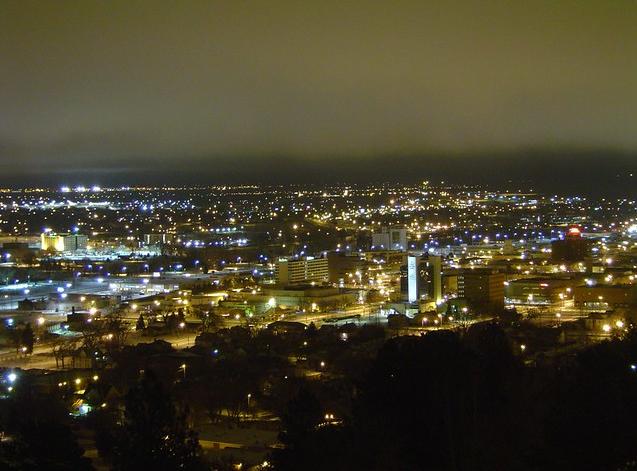 Downtown Rapid City, South Dakota