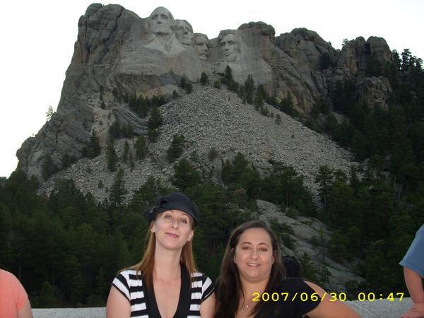 Me (on left) with my sister, Summer 2007