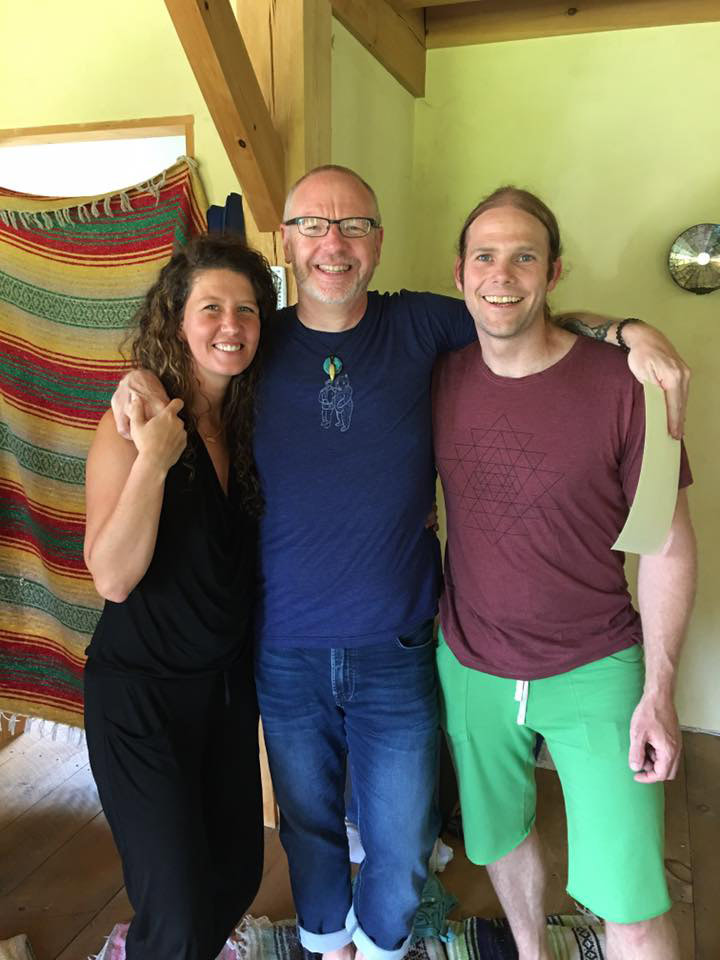 James Wood yoga in New England