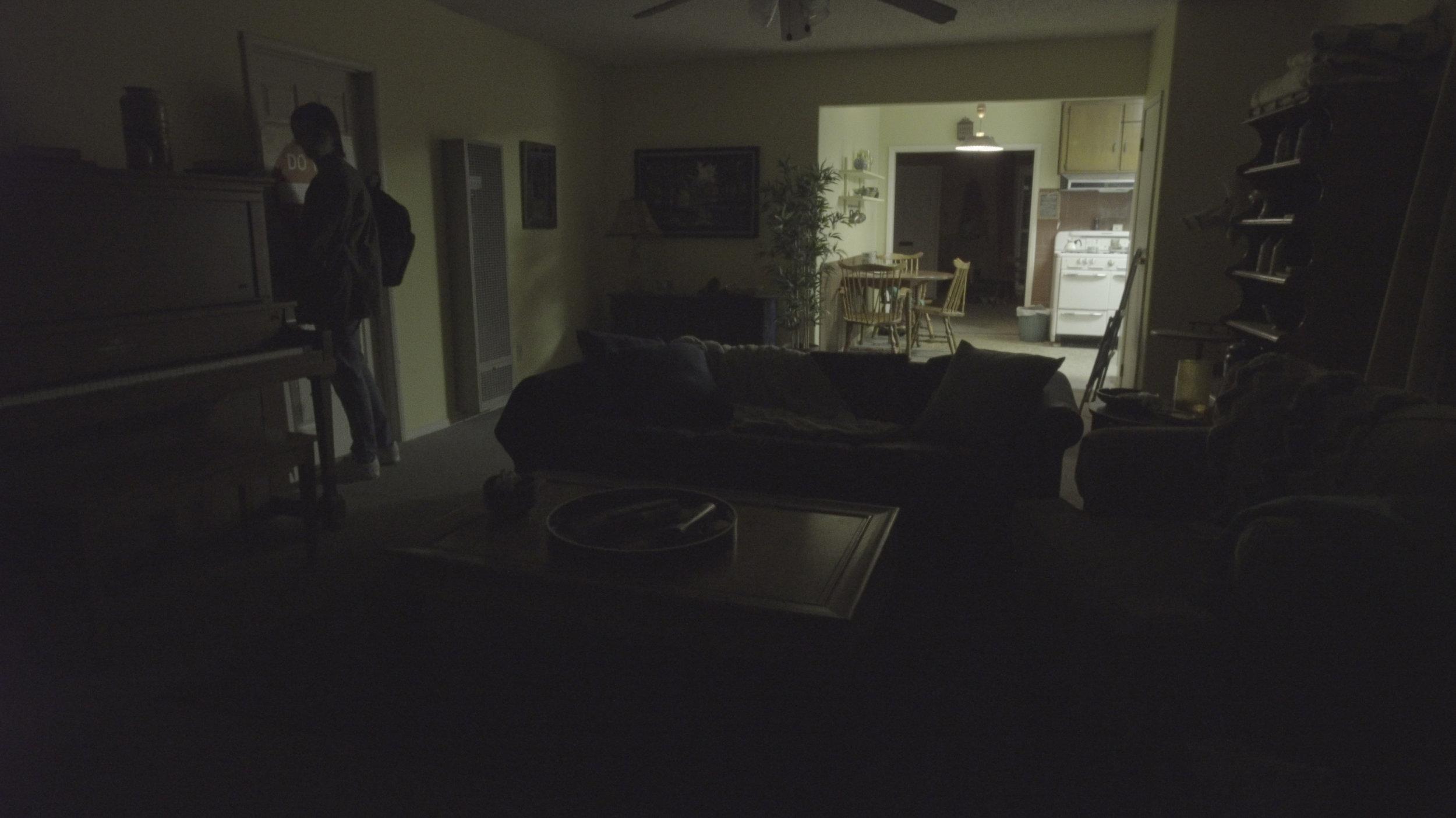 Jacob isn't afraid of the dark