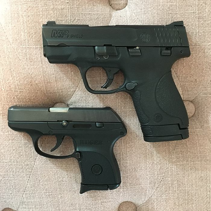 My Ruger LCP & Smith and Wesson M&P Shield