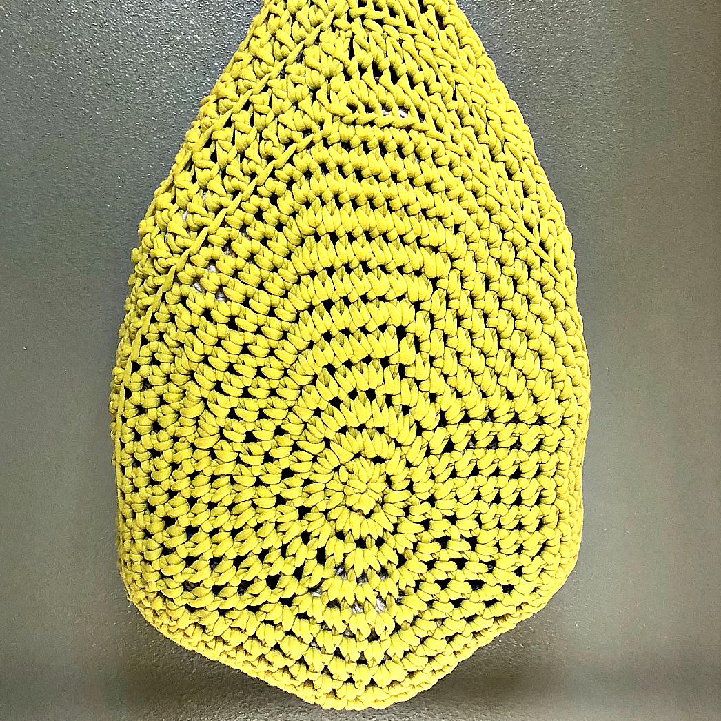 Grassland Hanging Storage Basket - Crochet Pattern - The Roving Nomad