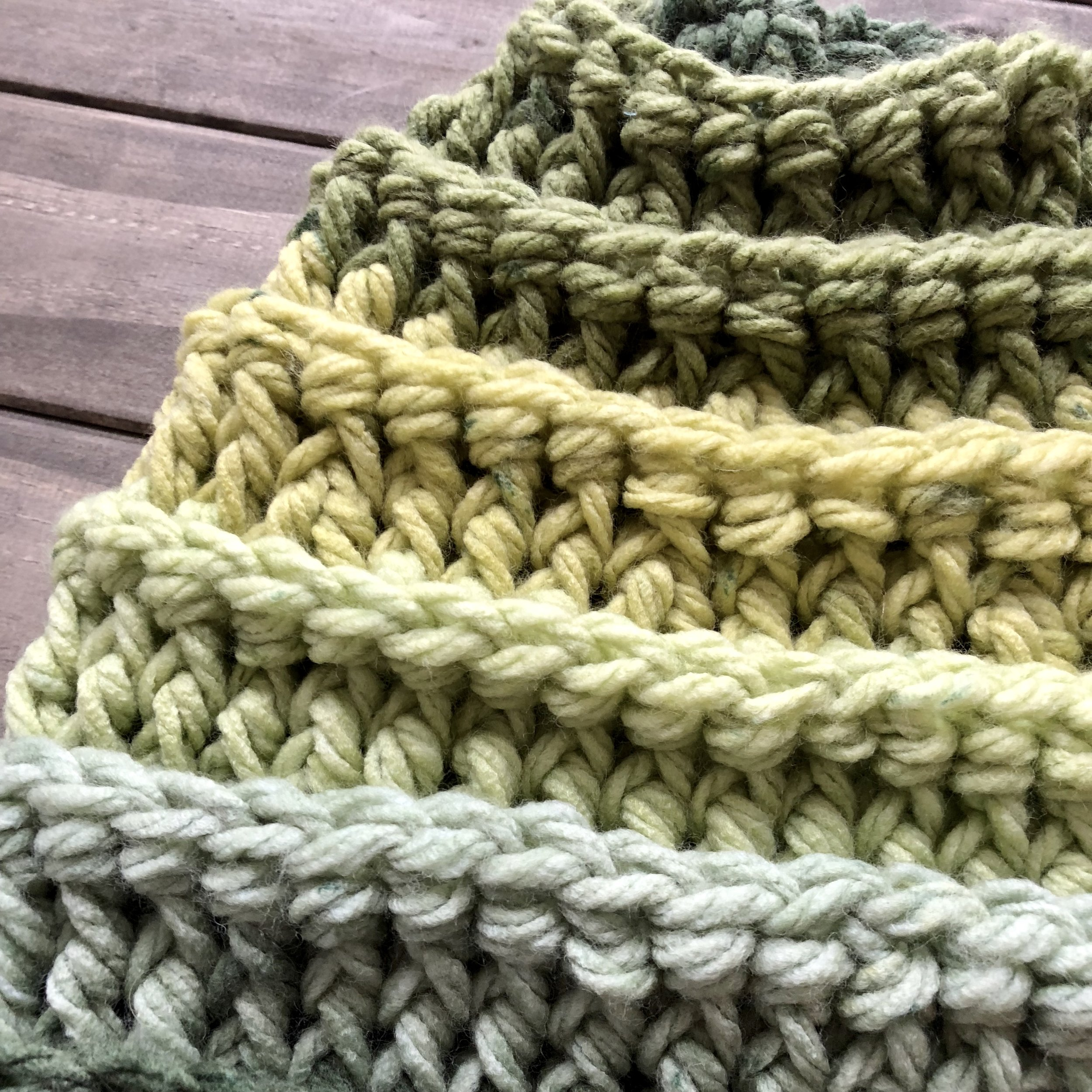 Colorado Spruce Beanie - Crochet Pattern - The Roving Nomad