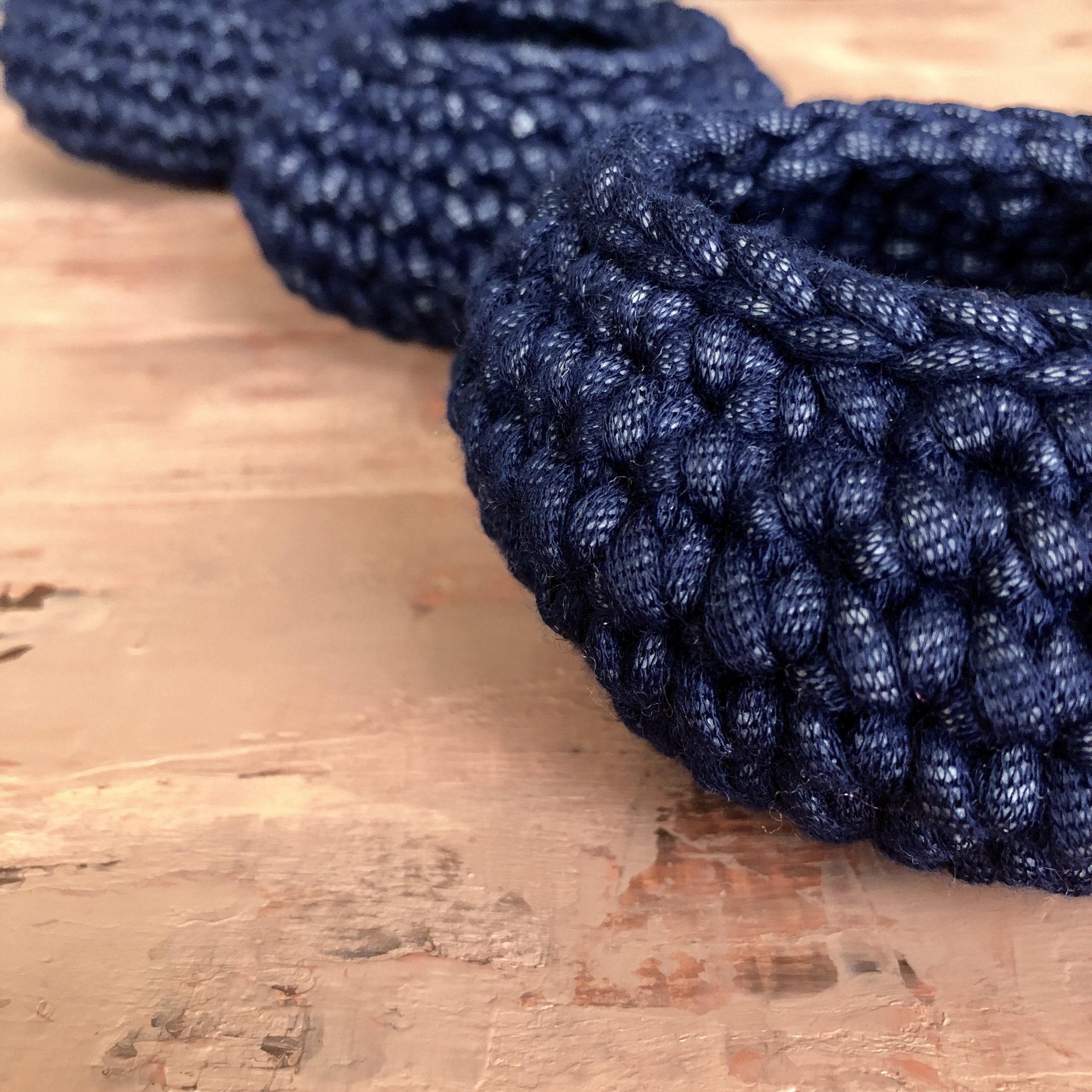 Little Round Baskets - Crochet Pattern - The Roving Nomad