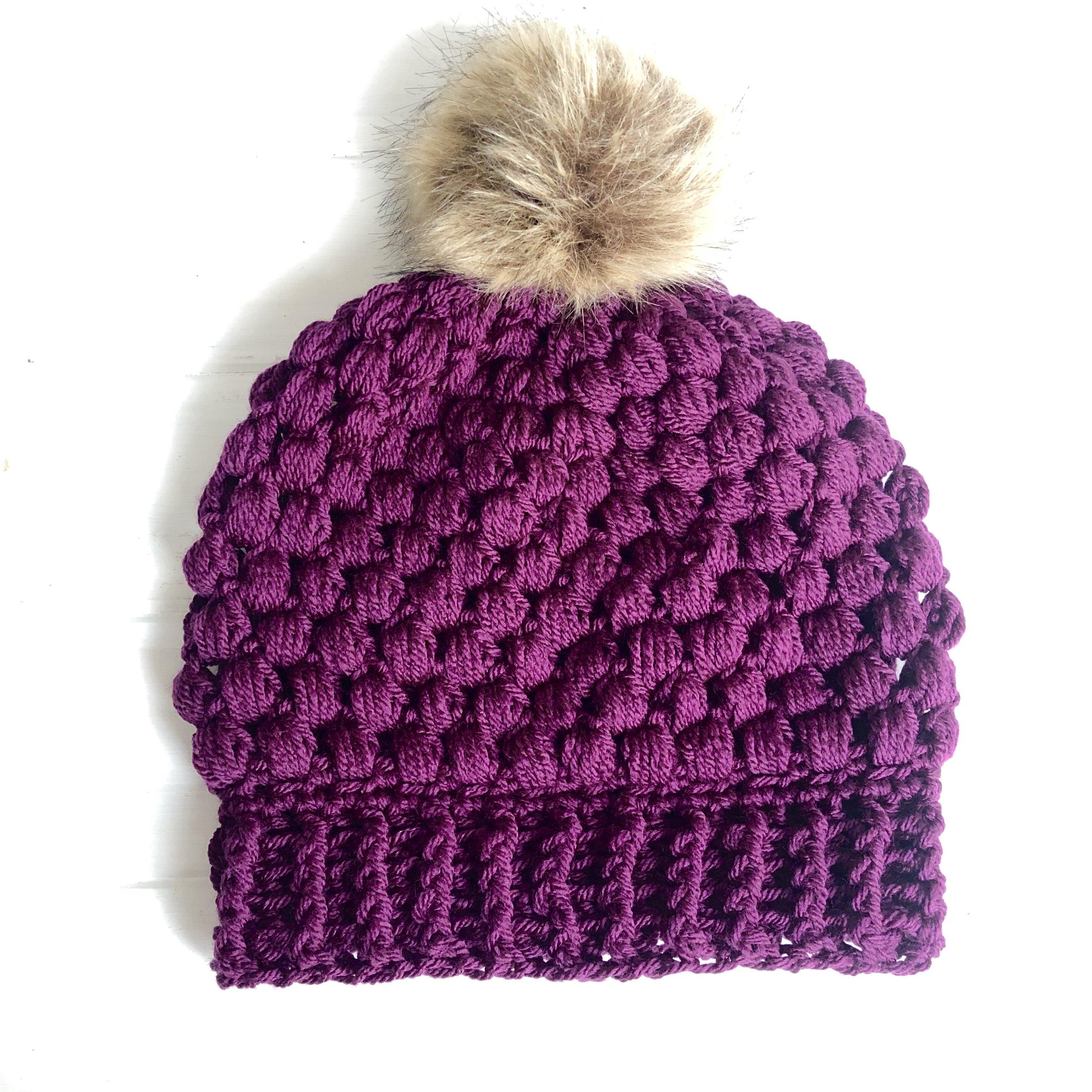Sonoma Beanie Hat - Crochet Pattern - The Roving Nomad