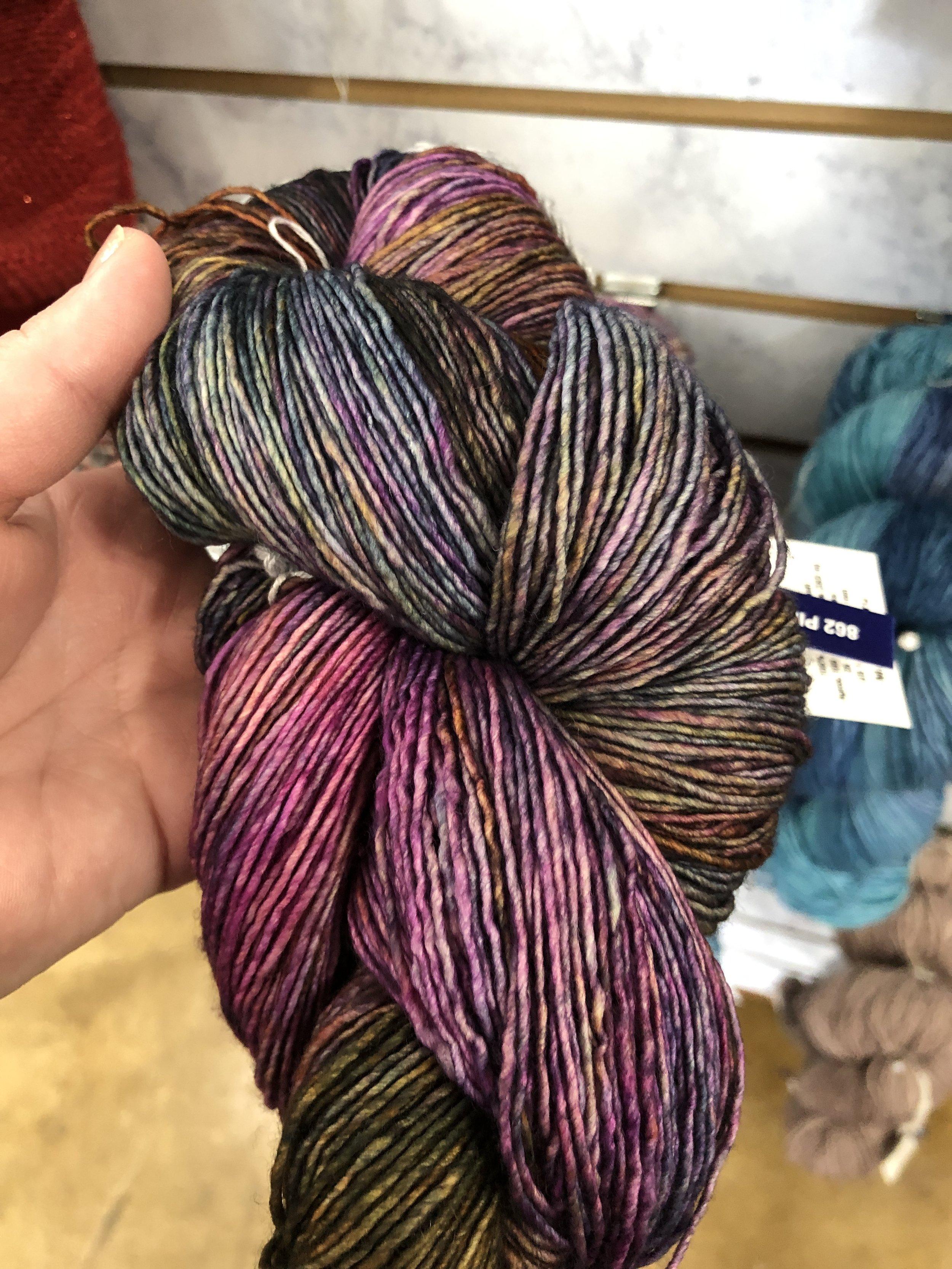 Rainbow Mountain Shawl - Crochet Pattern - The Roving Nomad