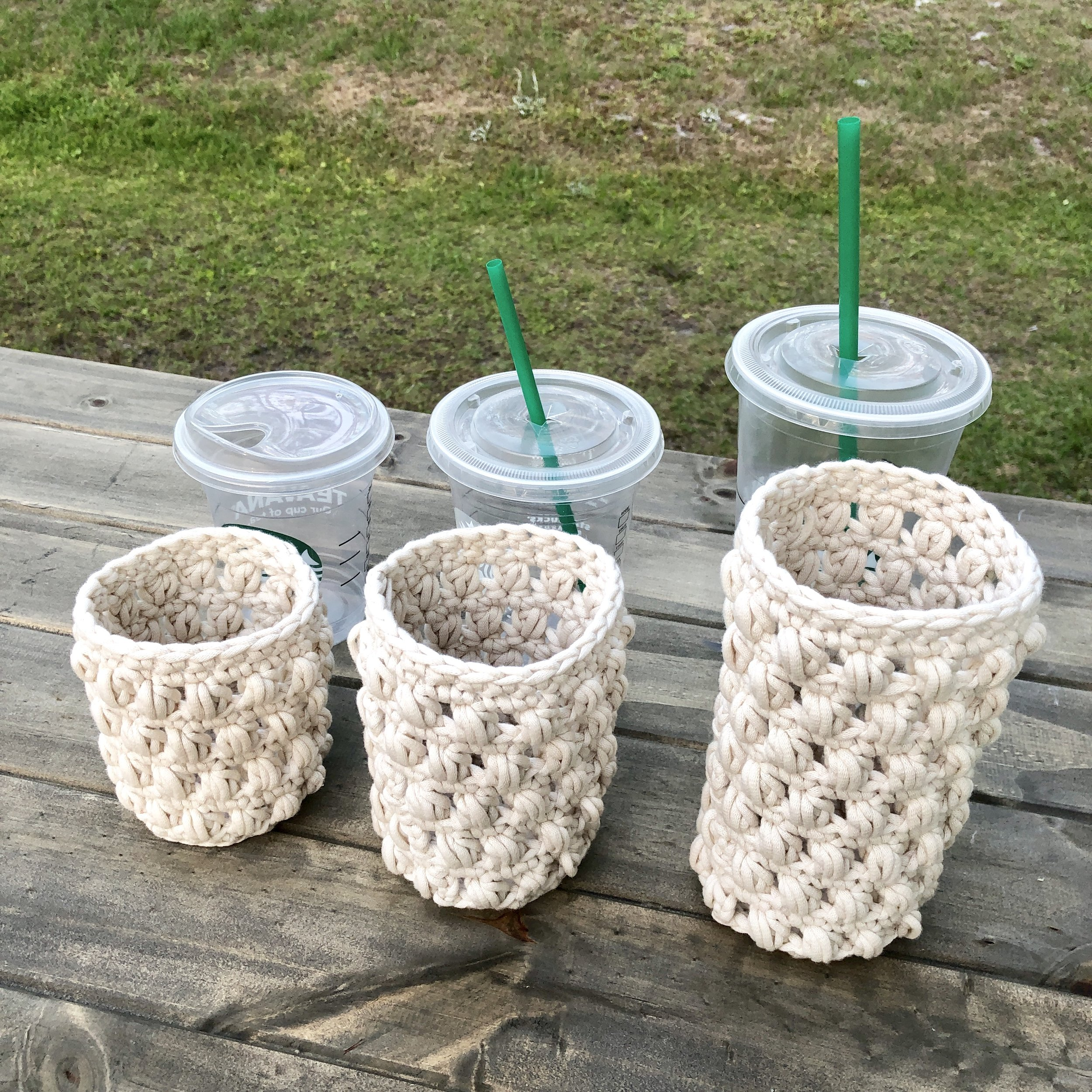 White Bluffs Cozy Starbucks Coffee - Crochet Pattern - The Roving Nomad