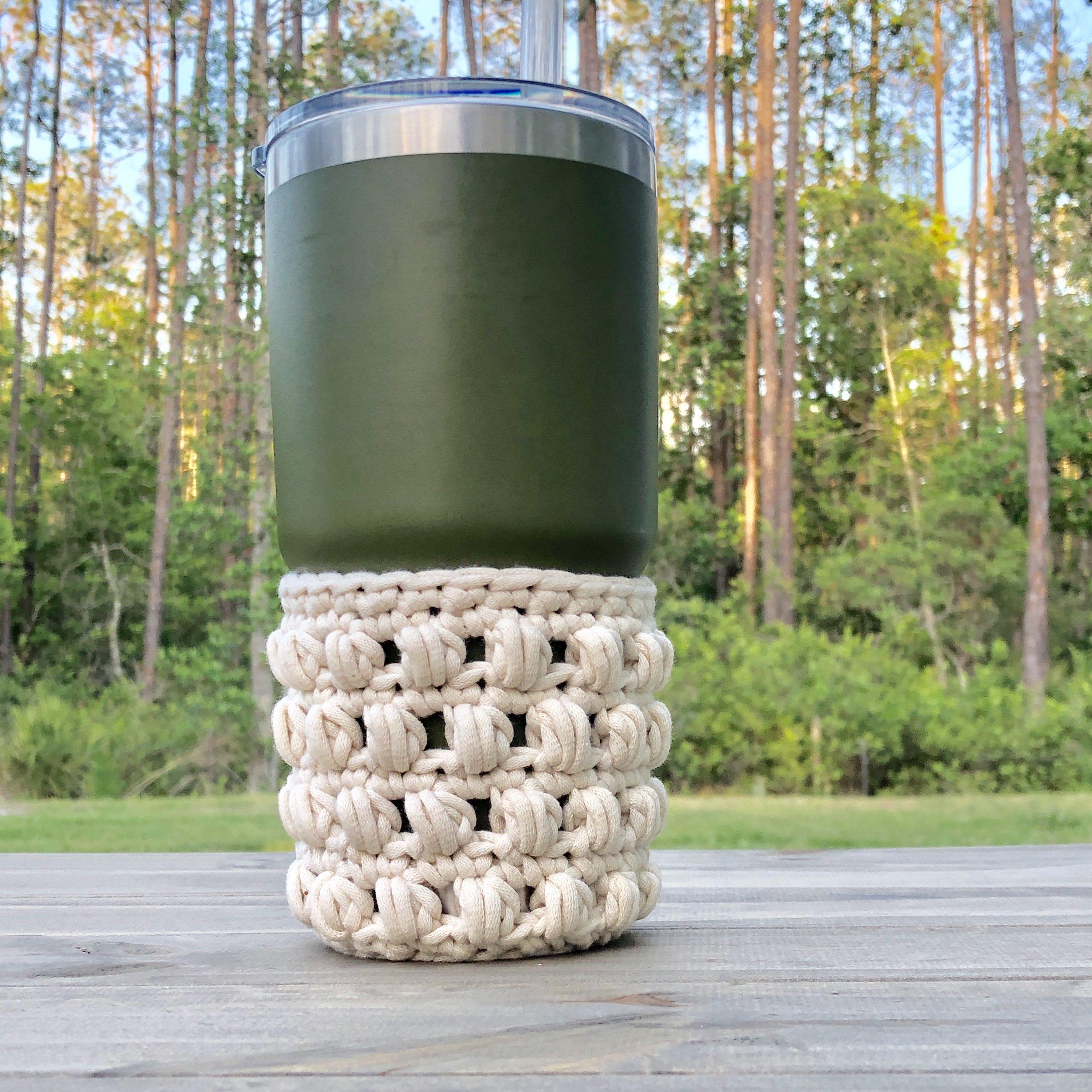 White Bluffs Yeti Cozy - Crochet Pattern - The Roving Nomad