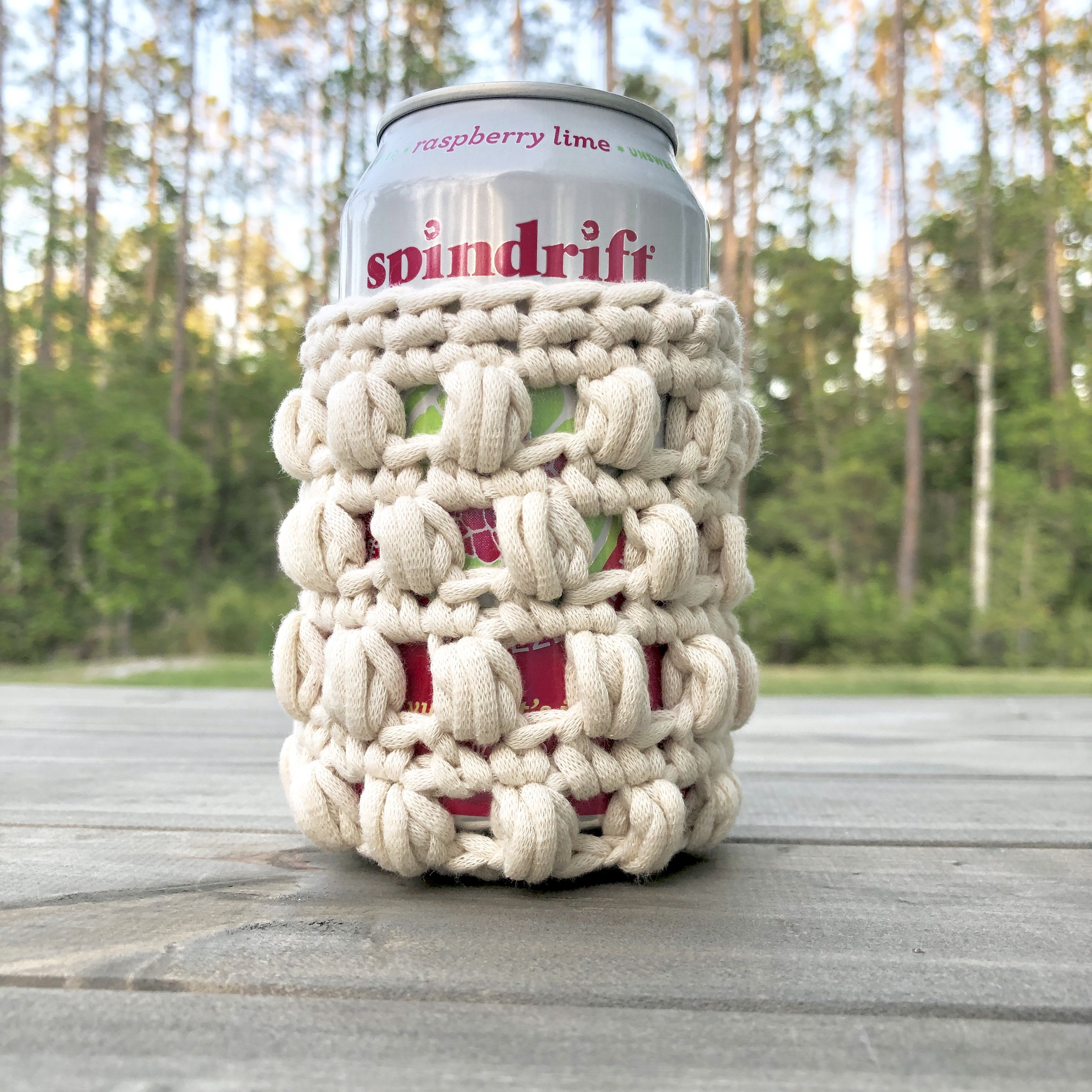 White Bluffs Can Cozy - Crochet Pattern - The Roving Nomad