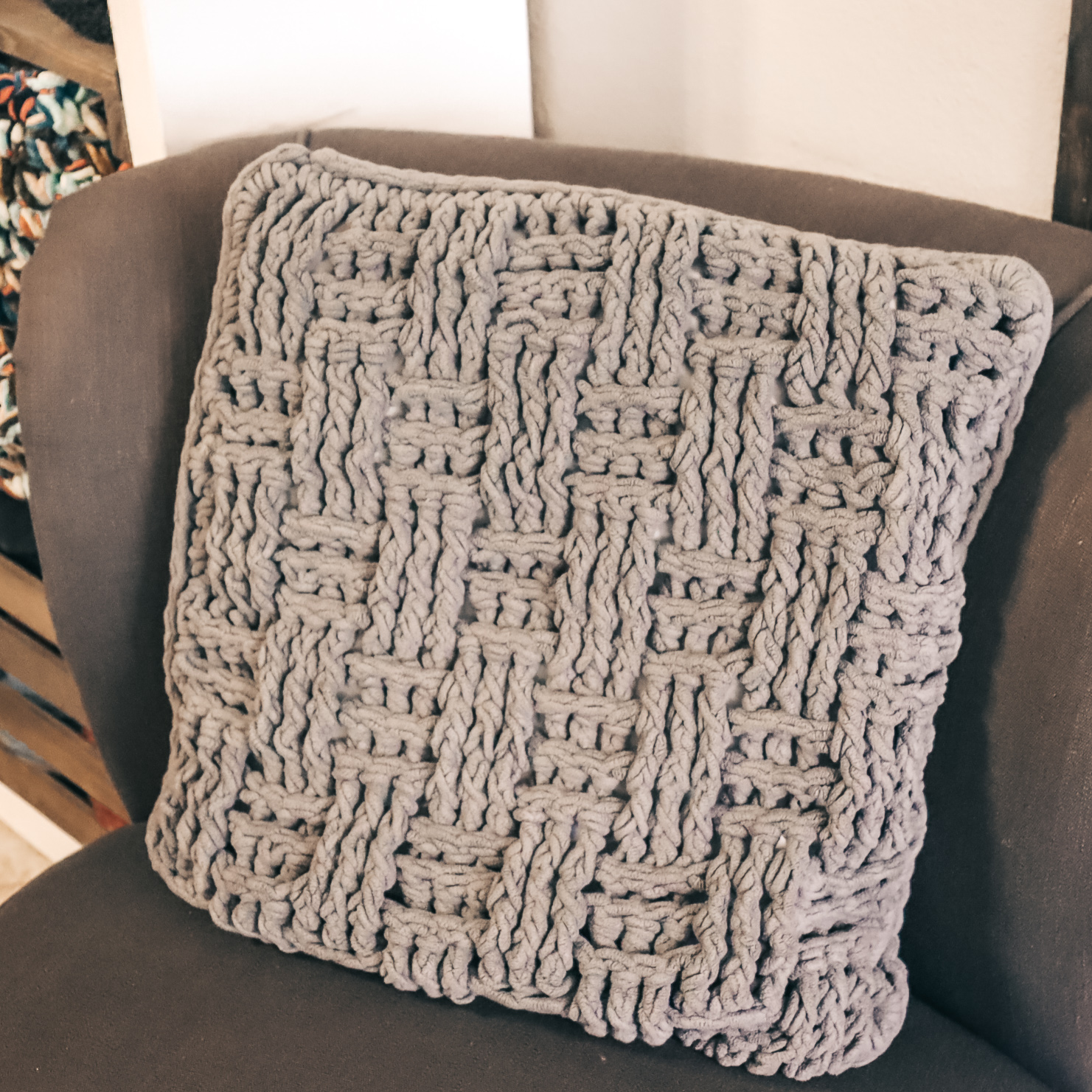 The Pioneer Pillow - Crochet Pattern - The Roving Nomad