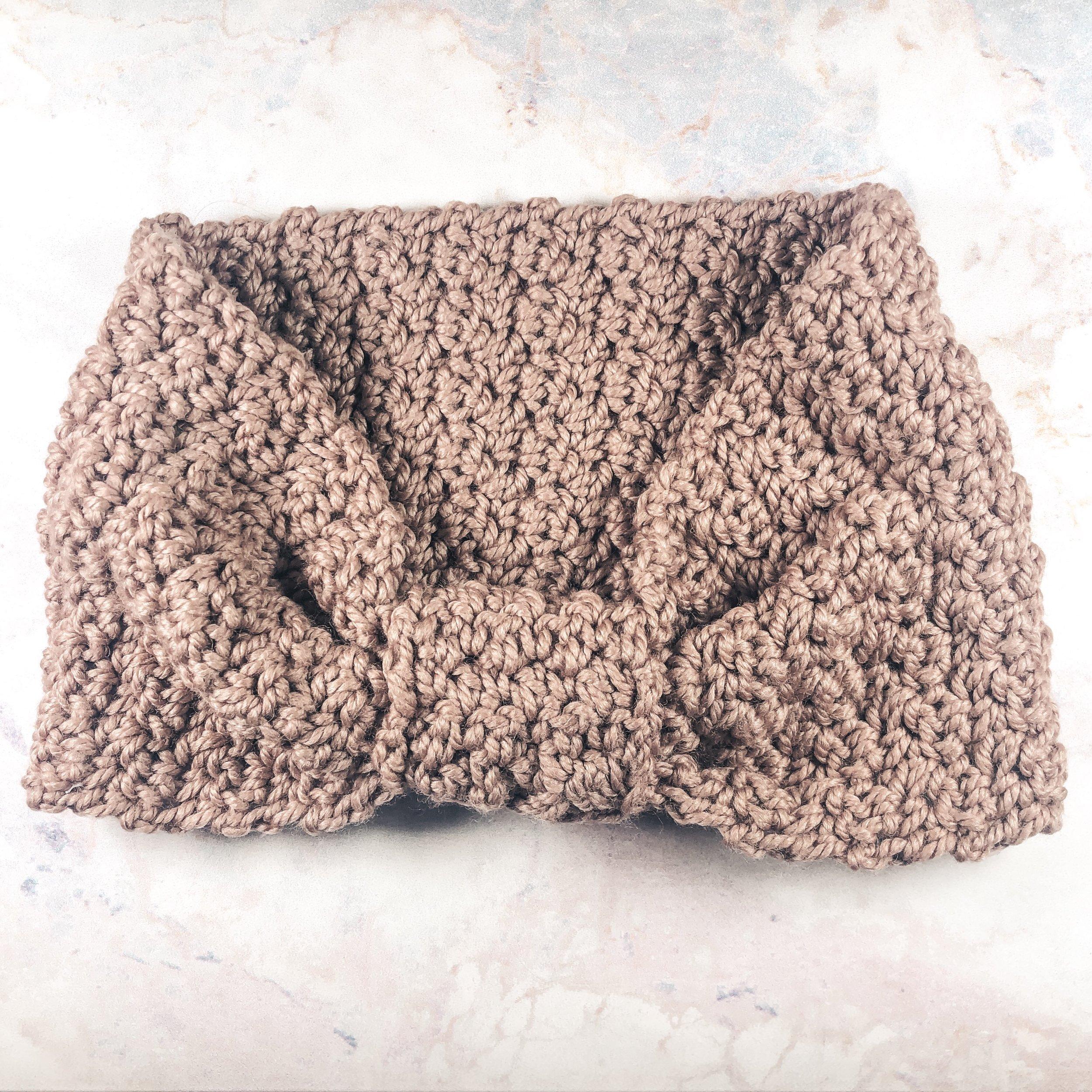 Wilderness Headband - Crochet Pattern - The Roving Nomad