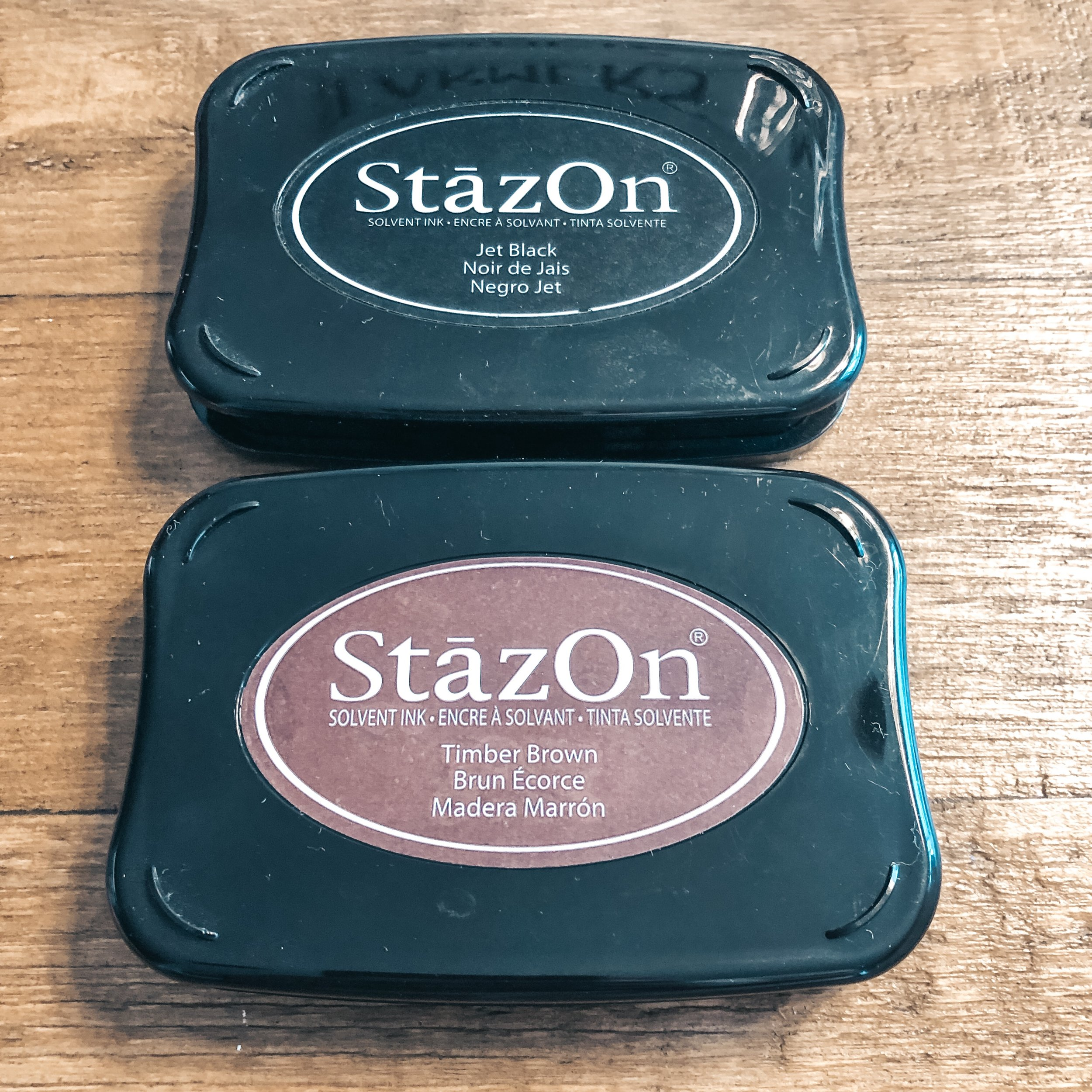 StazOn Peranent Ink Pads
