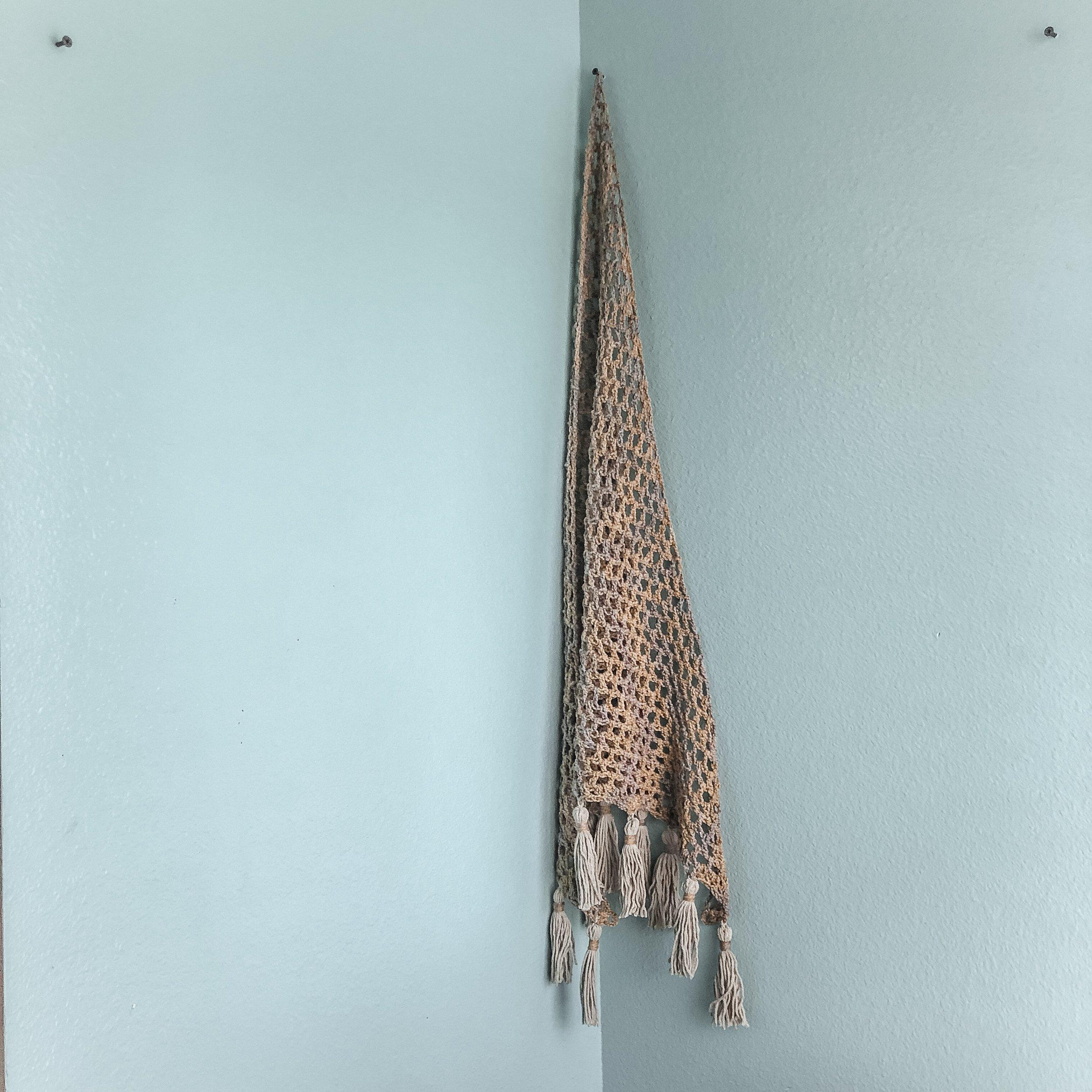 Universal Corner Net - Crochet Pattern - The Roving Nomad