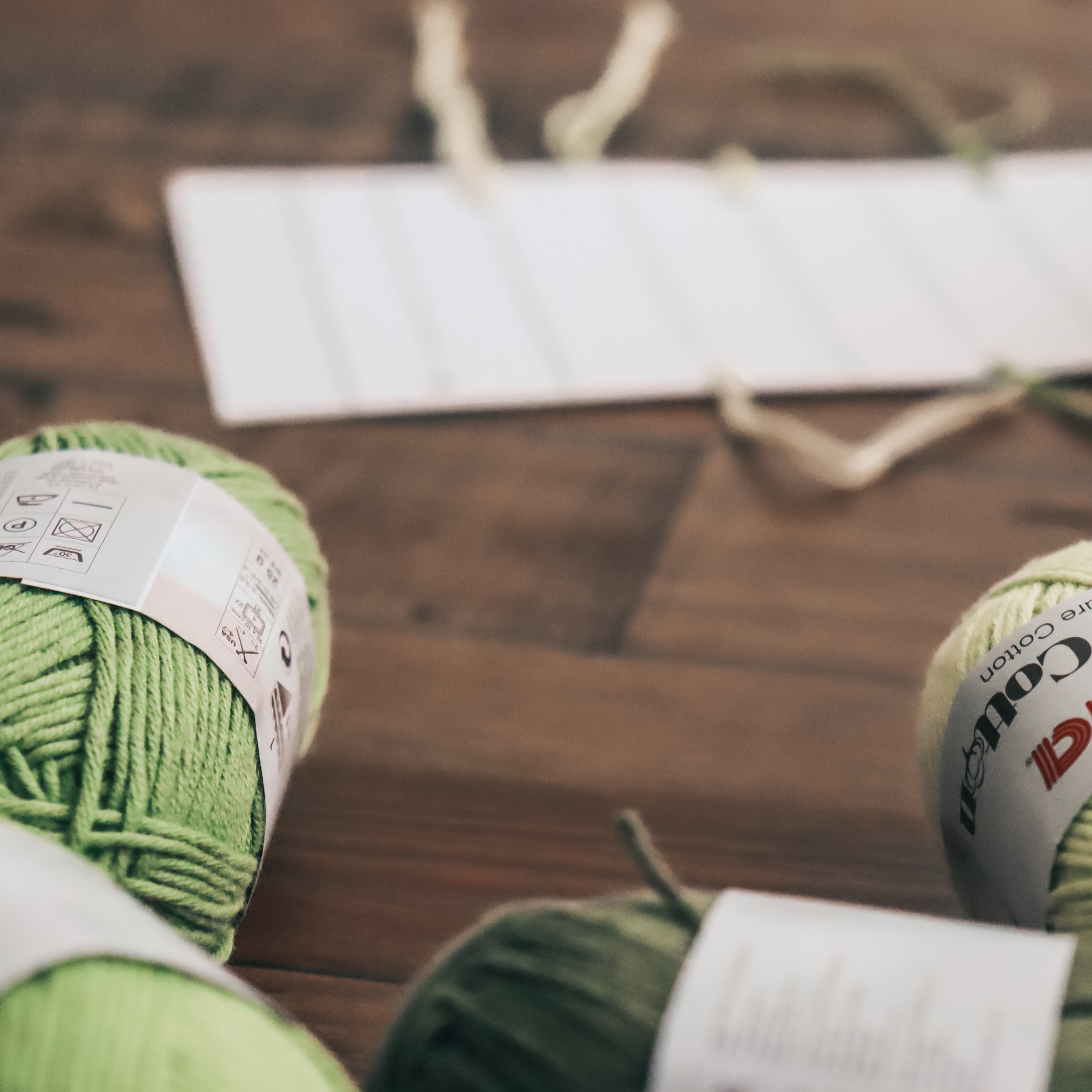Yarn Swatch Card - Printable - The Roving Nomad